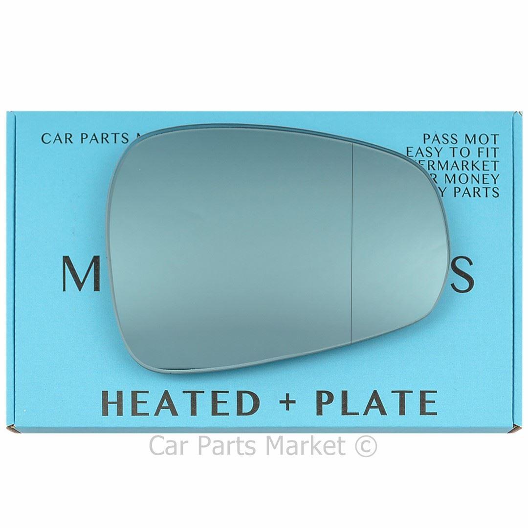 Left Passenger Side Heated Blue Wing Mirror Glass for ALFA ROMEO GIULIETTA 2010+