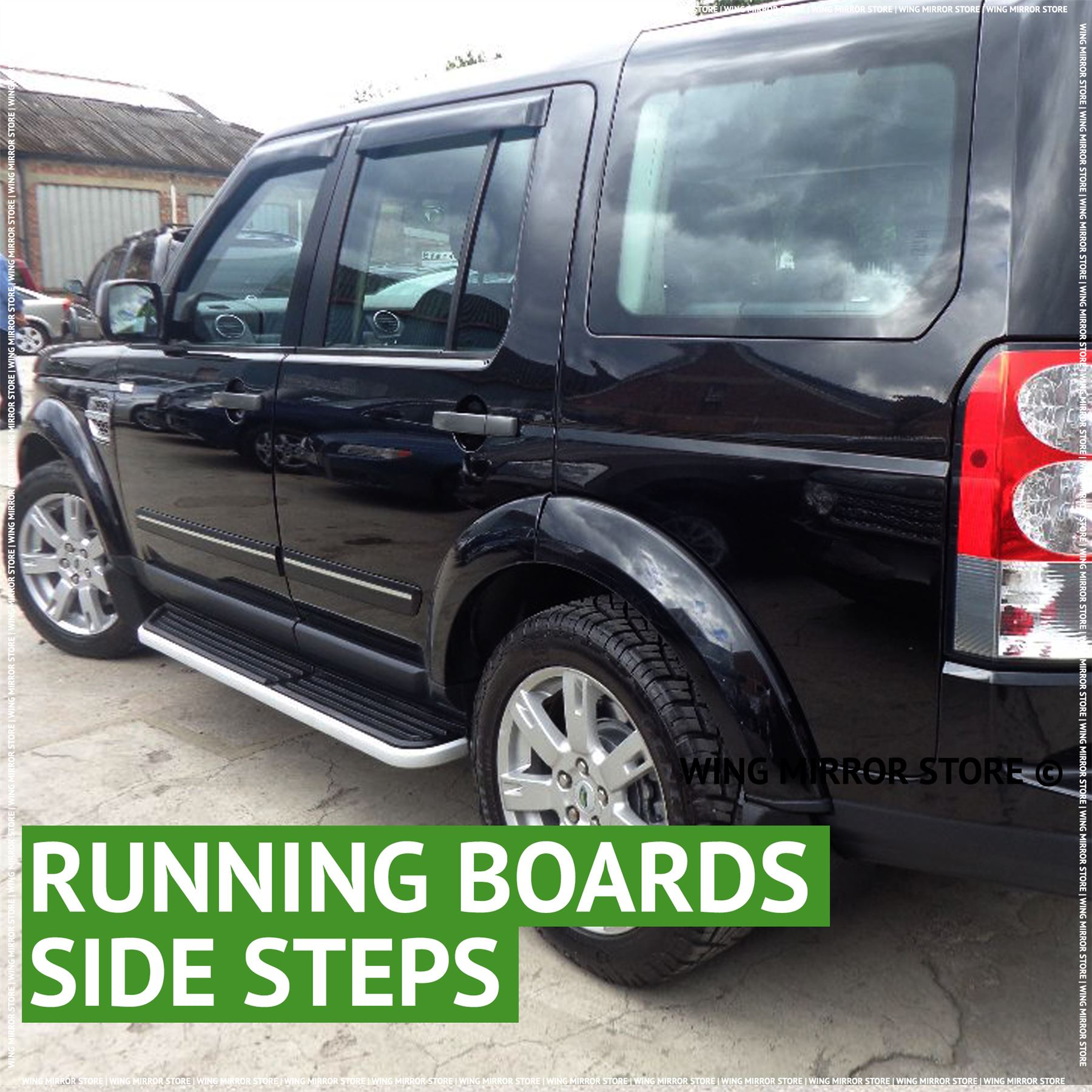 NEW Running Boards, Side Steps For Land Rover Discovery