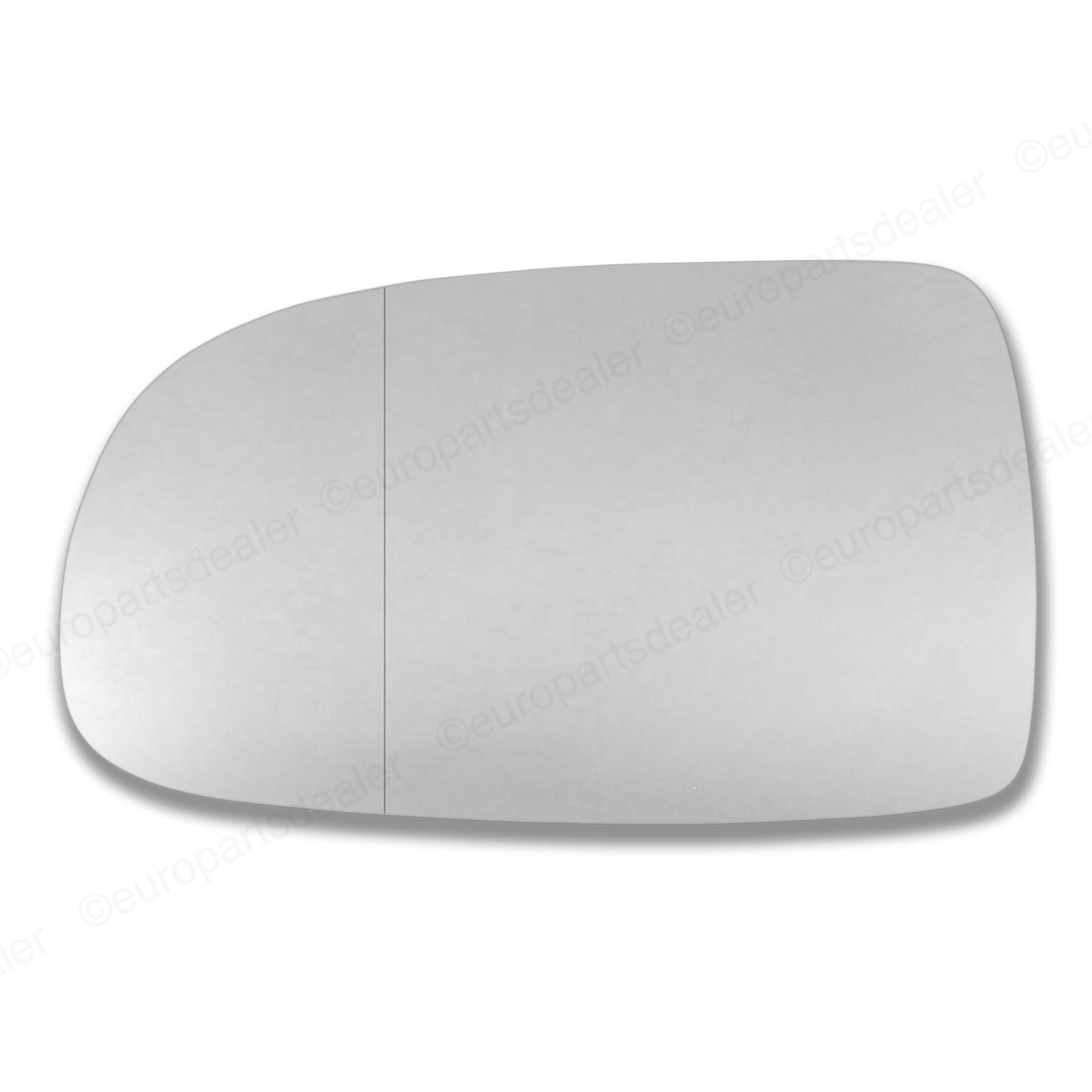 Left Passenger Side Wide Angle Wing Mirror Glass for VAUXHALL CORSA C 2001-2006