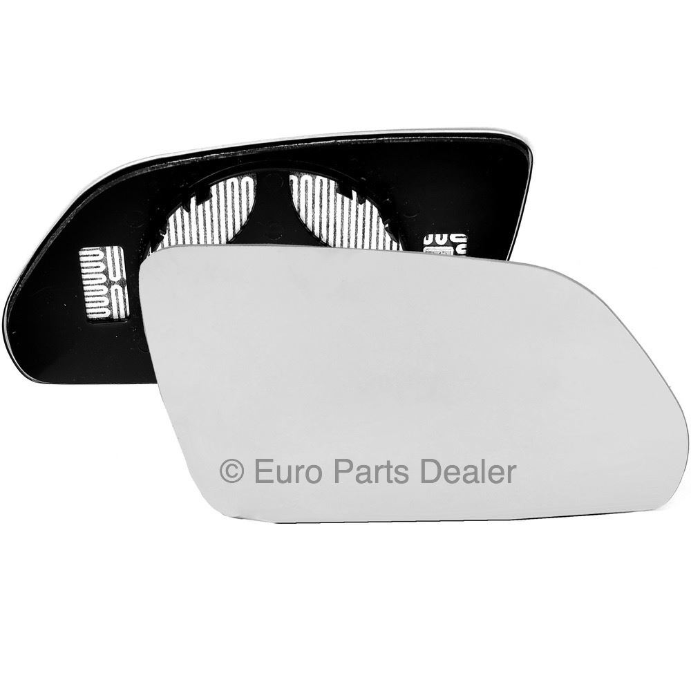 Left side Clip Heated Wide Angle wing mirror glass for Skoda Octavia 04-08