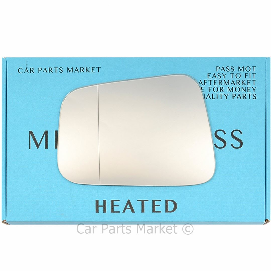 Wing Mirror Glass For Honda Jazz 2001-2005 Right Side Convex Heated #268