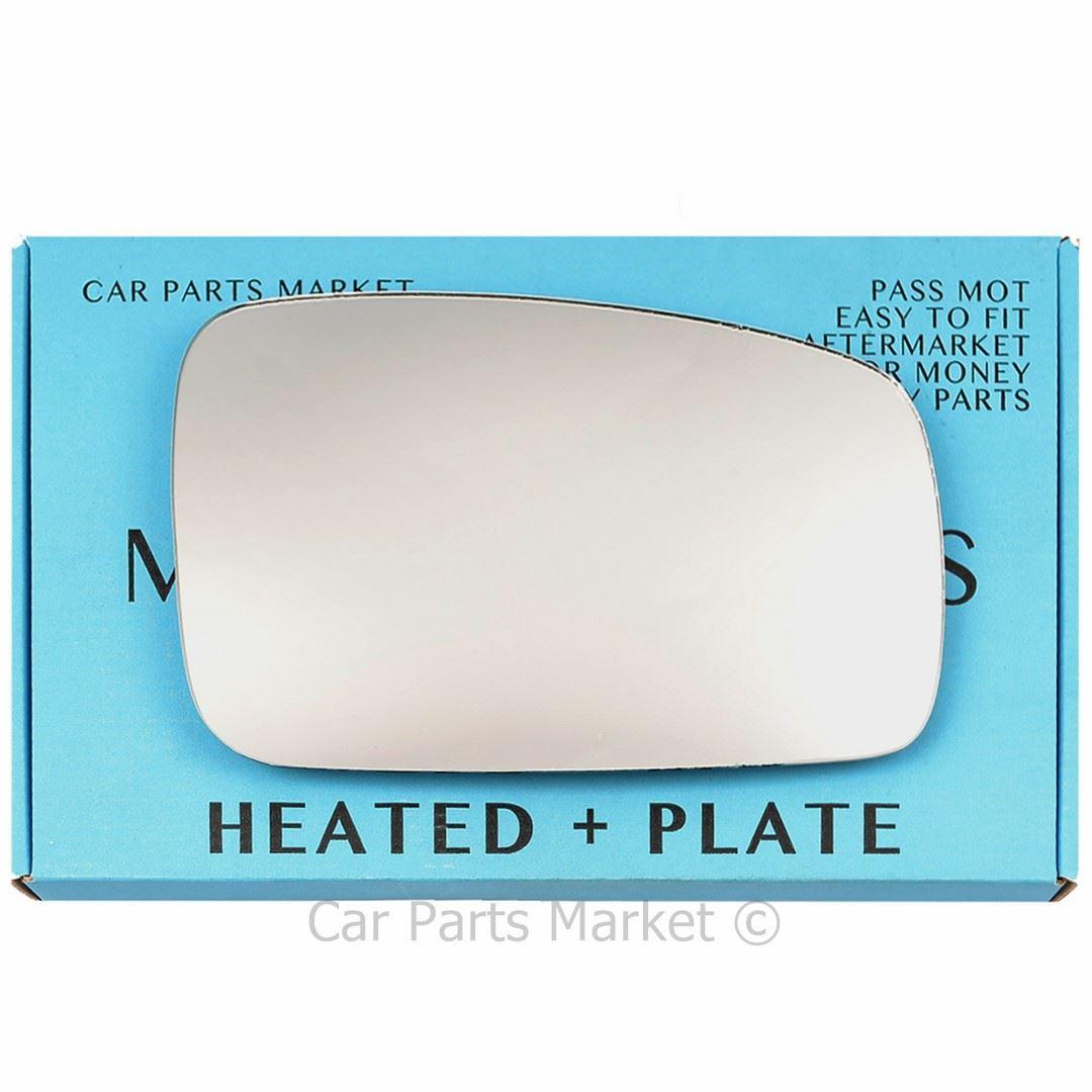 Left Passenger side Flat Wing mirror glass for Kia Sorento 02-09 heated plate
