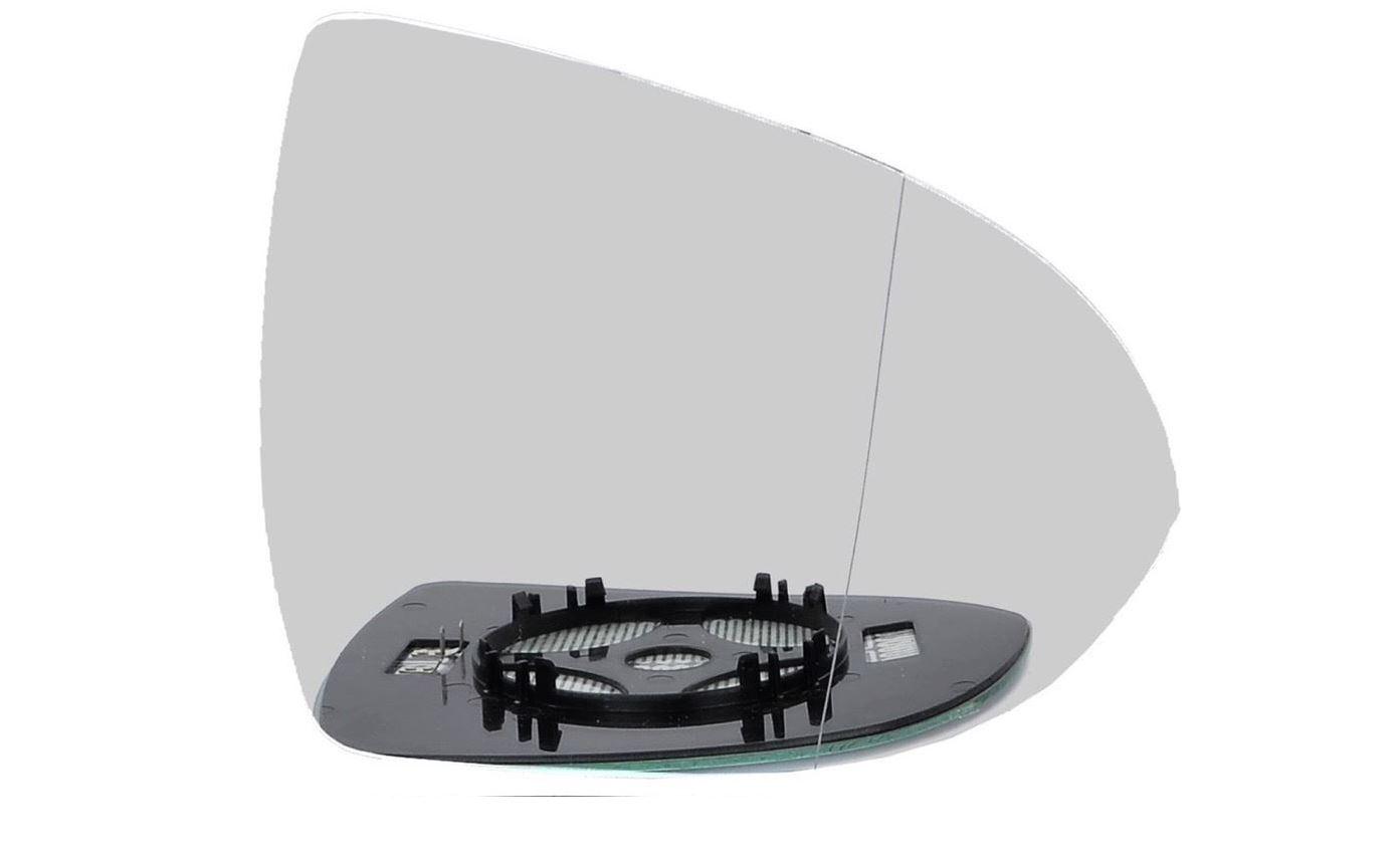 Lado Derecho Ala Gran Angular Cristal Espejo Puerta Para Nissan Micra K13 2010-2017