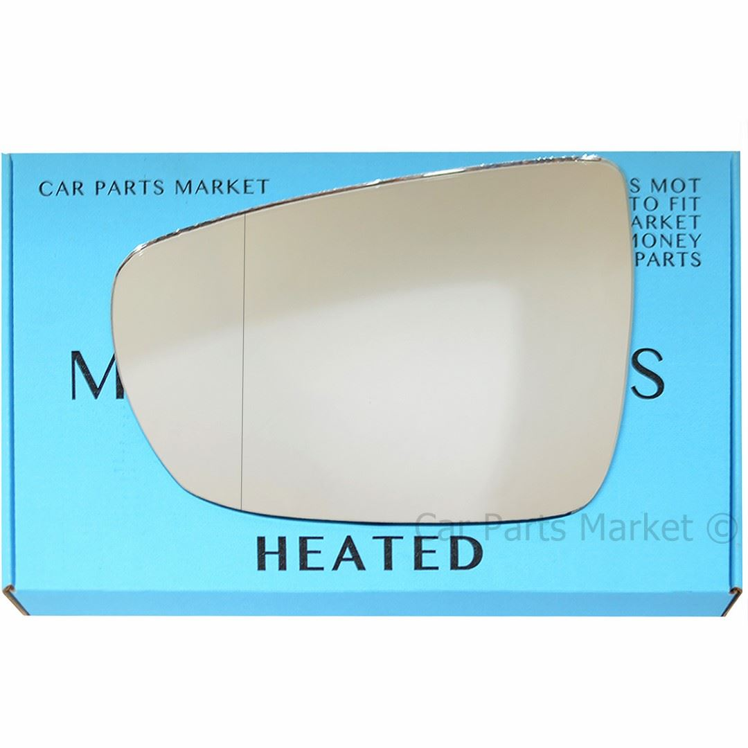 Right Driver Wide Angle Wing Mirror Glass for Kia Carens 2006-2013 558RAS