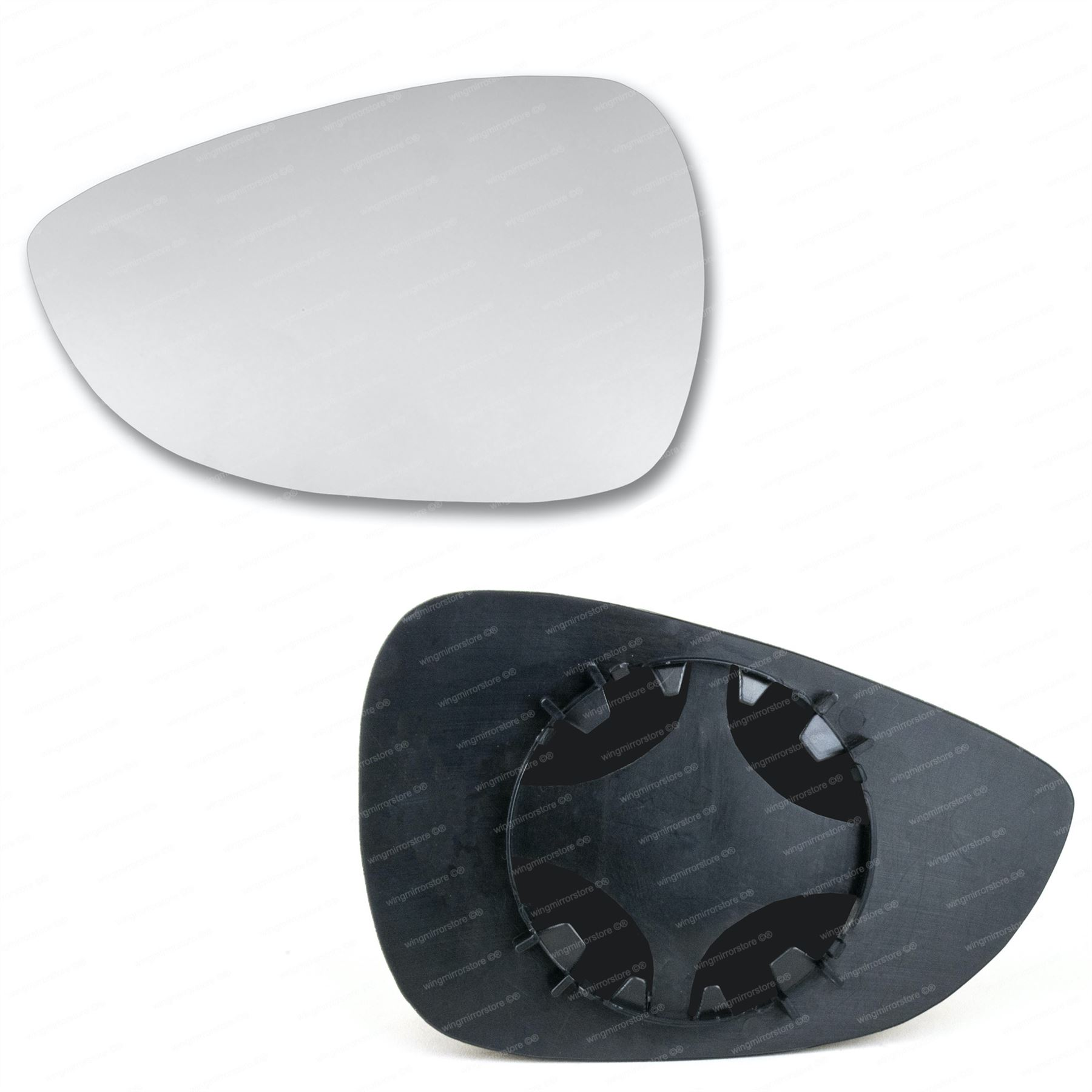 plate Left side Wing door mirror glass for Ford B-Max 2012-2018 heated