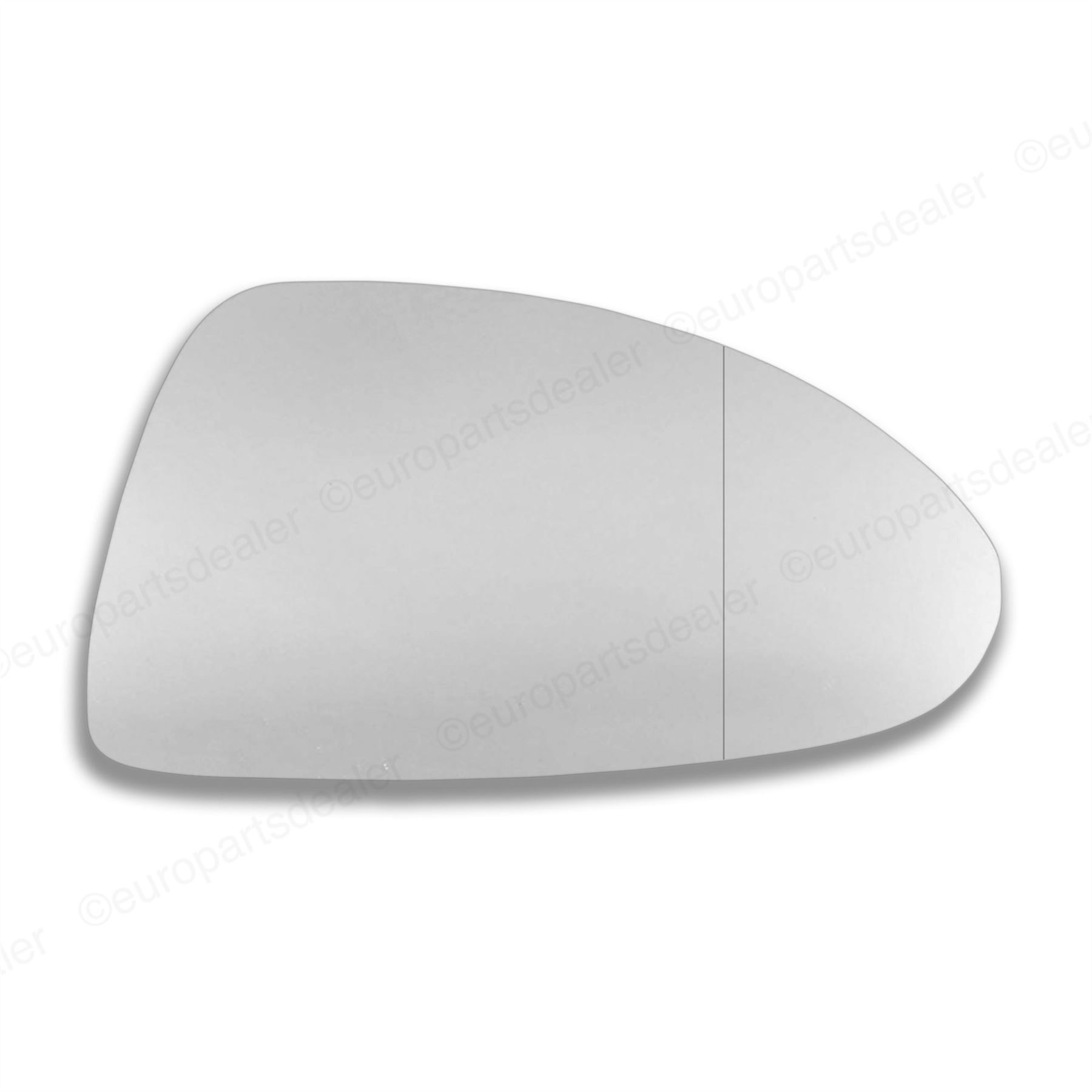 Left Passenger Side WING DOOR MIRROR GLASS Vauxhall Corsa C 2001-06 Stick On