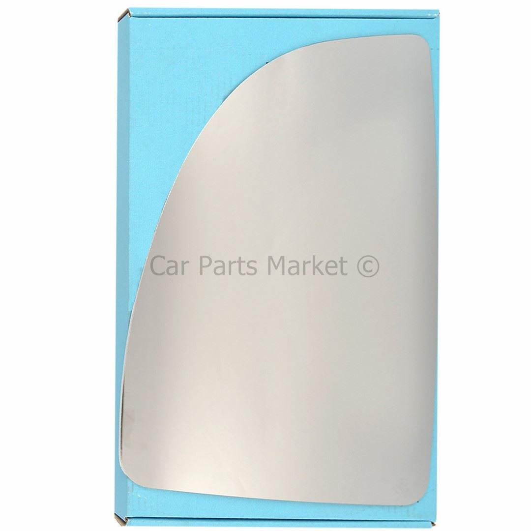 Left Passenger Side Convex Wing Door Mirror Glass for PEUGEOT BOXER 1999-2006