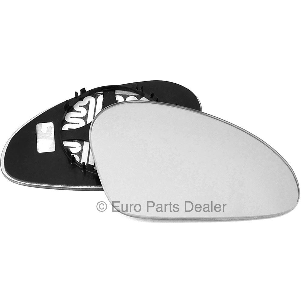 Right hand driver off side convex wing mirror glass Seat Arosa 1997-2001 901RS