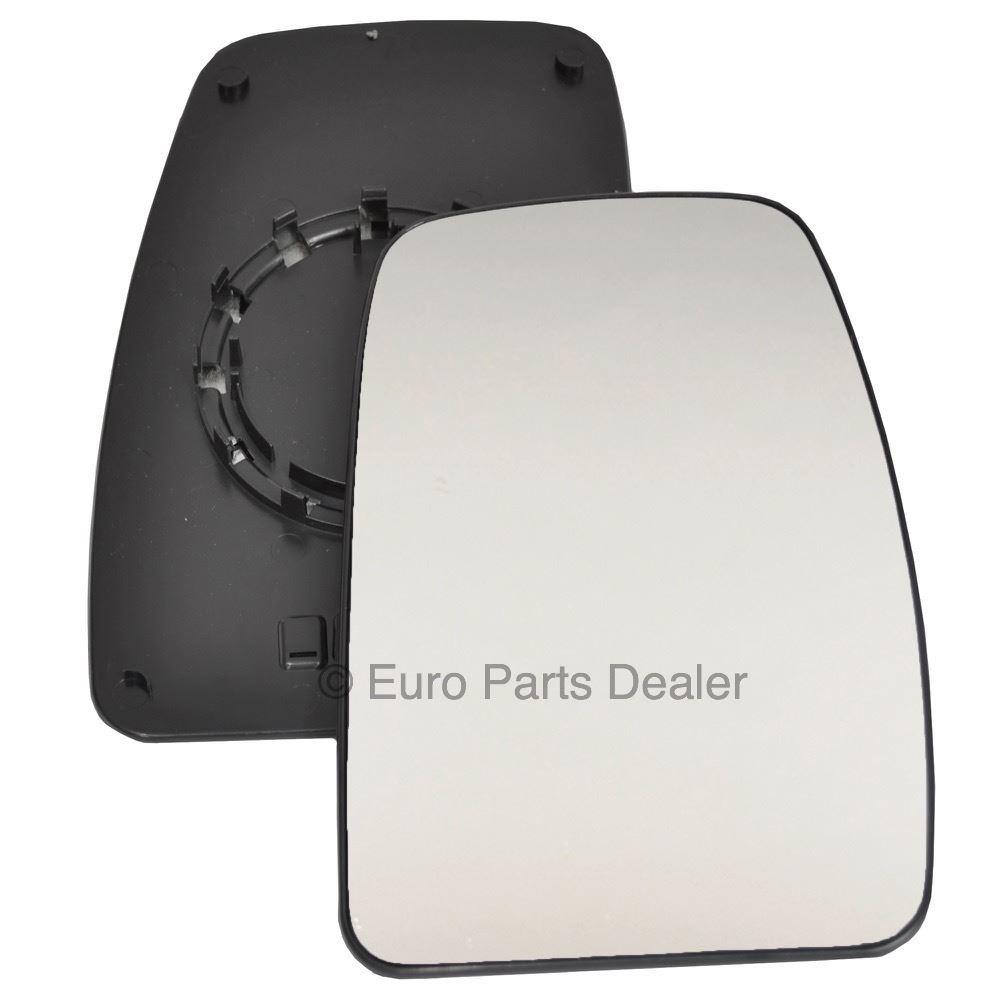 Côté conducteur Clip Grand Angle Wing Mirror Glass for NISSAN INTERSTAR 03-10