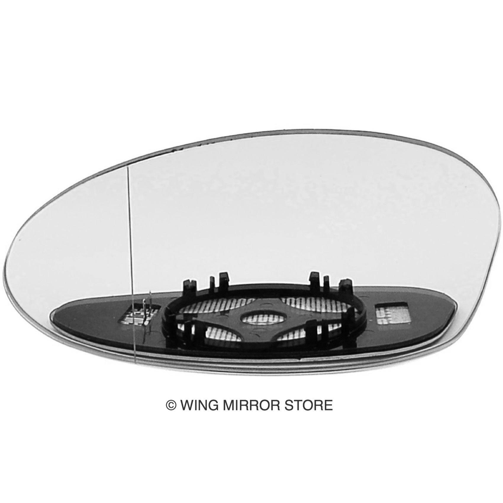 BMW 3 Series E90 Saloon 2008-2012 Heated Aspherical Mirror Glass Passenger Side
