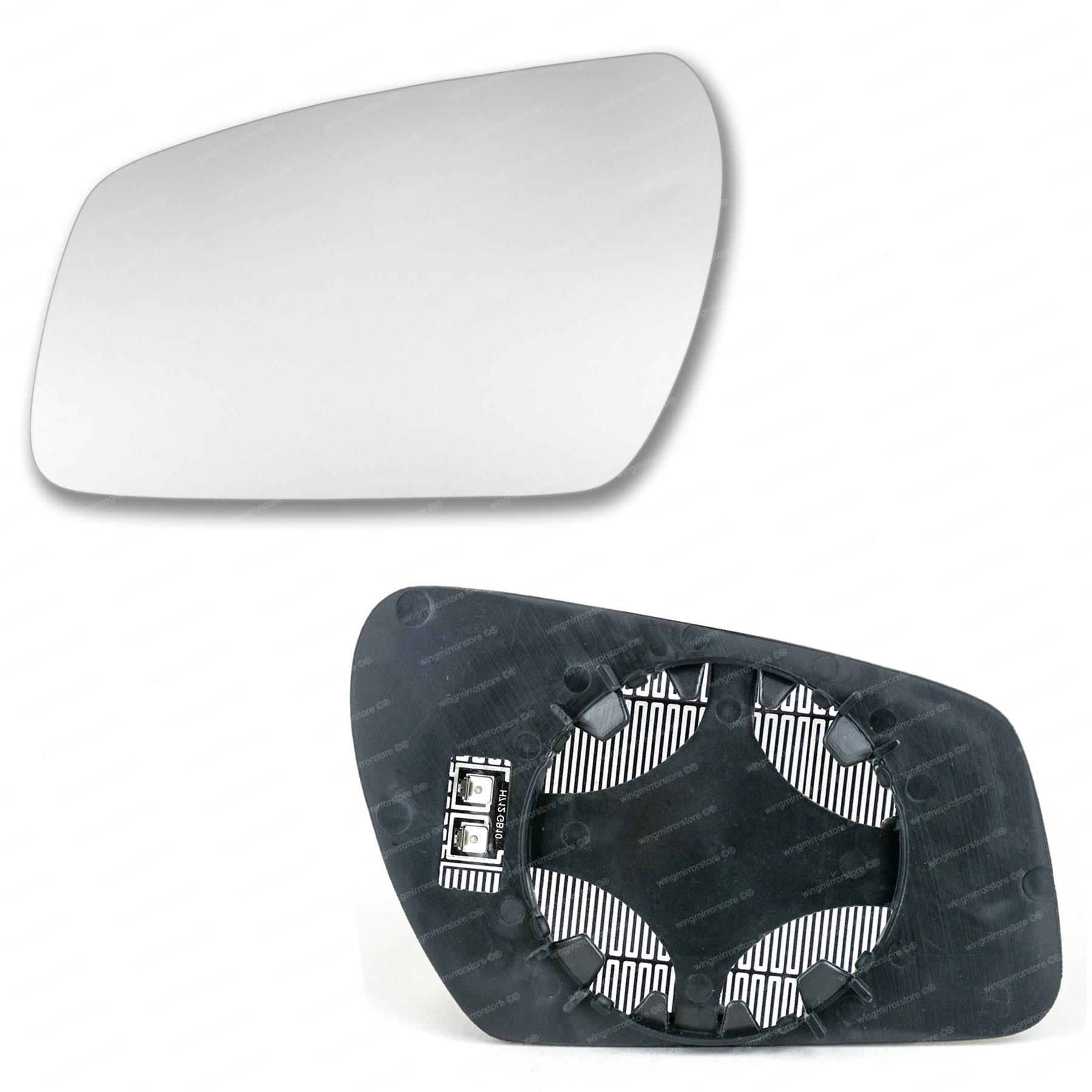 Seat Ibiza Ala 2003,2004,2005,2006,2007/plata//puerta cristal de espejo izquierdo lado del pasajero
