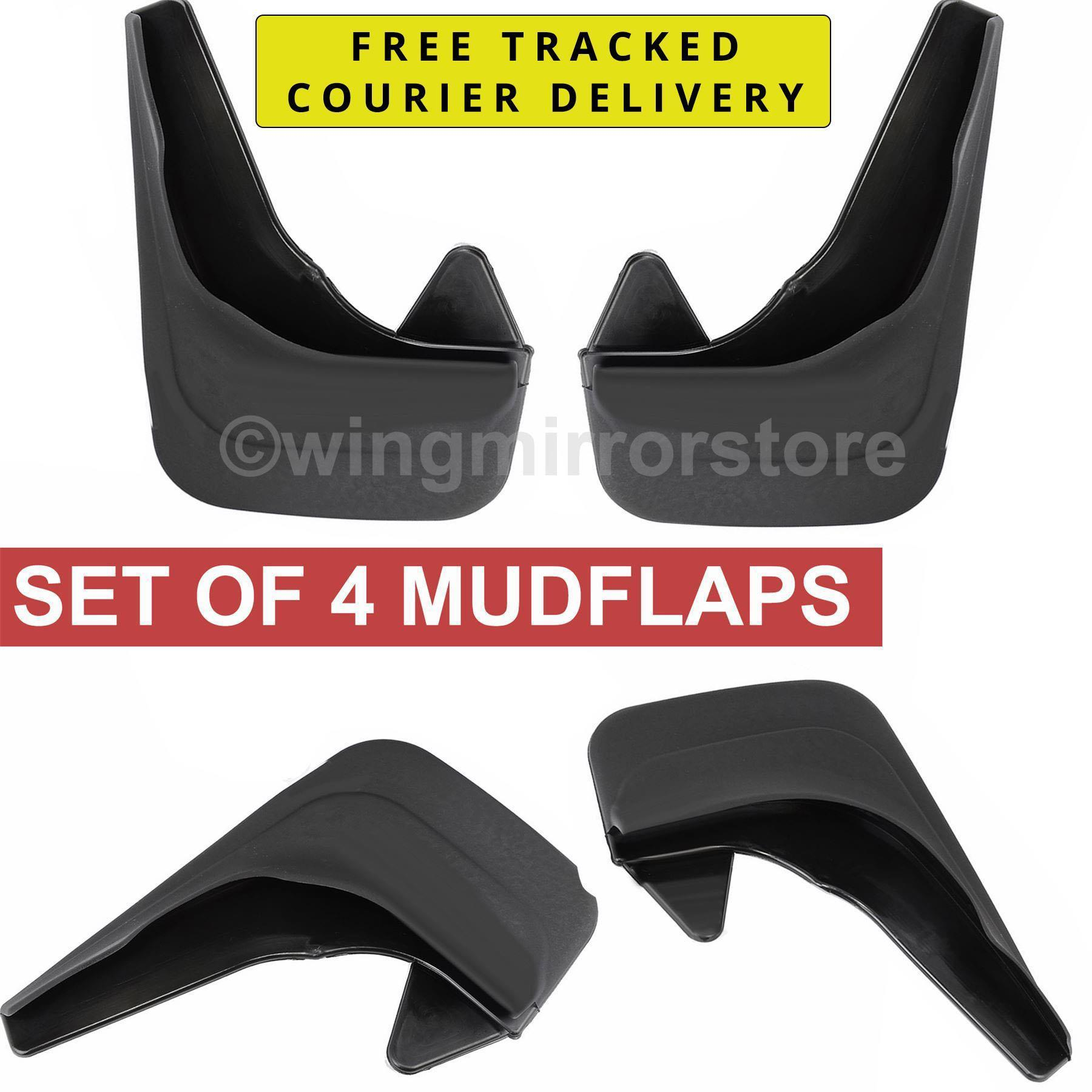 Rear and Front Mud Flaps for Nissan Micra K11 Rubber Moulded set of 4