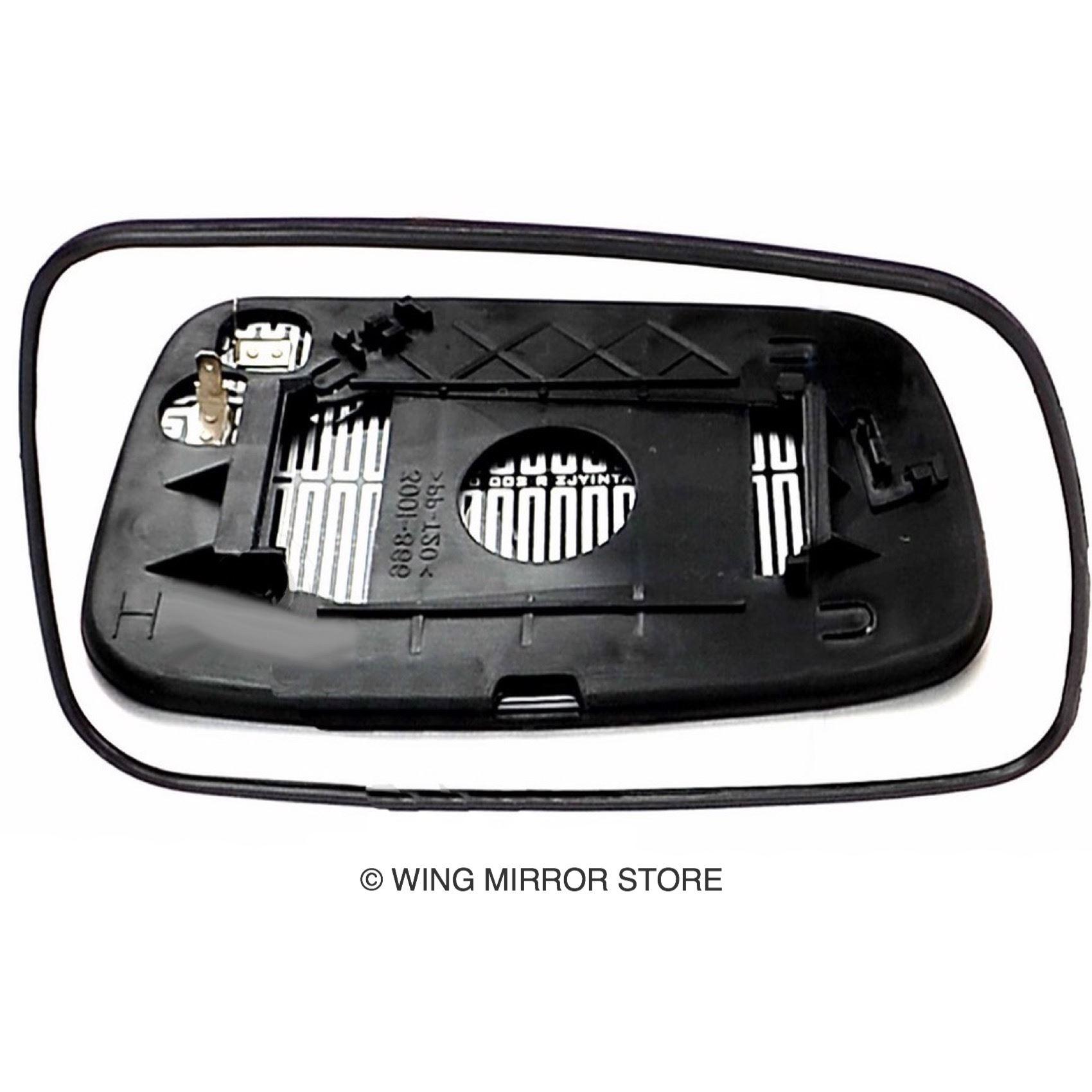 Rechts Asphärisch Spiegelglas Beheizbar für Toyota Yaris 1999-2005