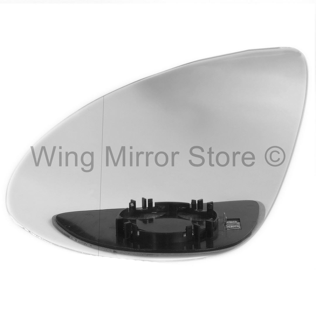 Right side for Audi A4 2007-2010 Wide Angle heated wing door mirror glass