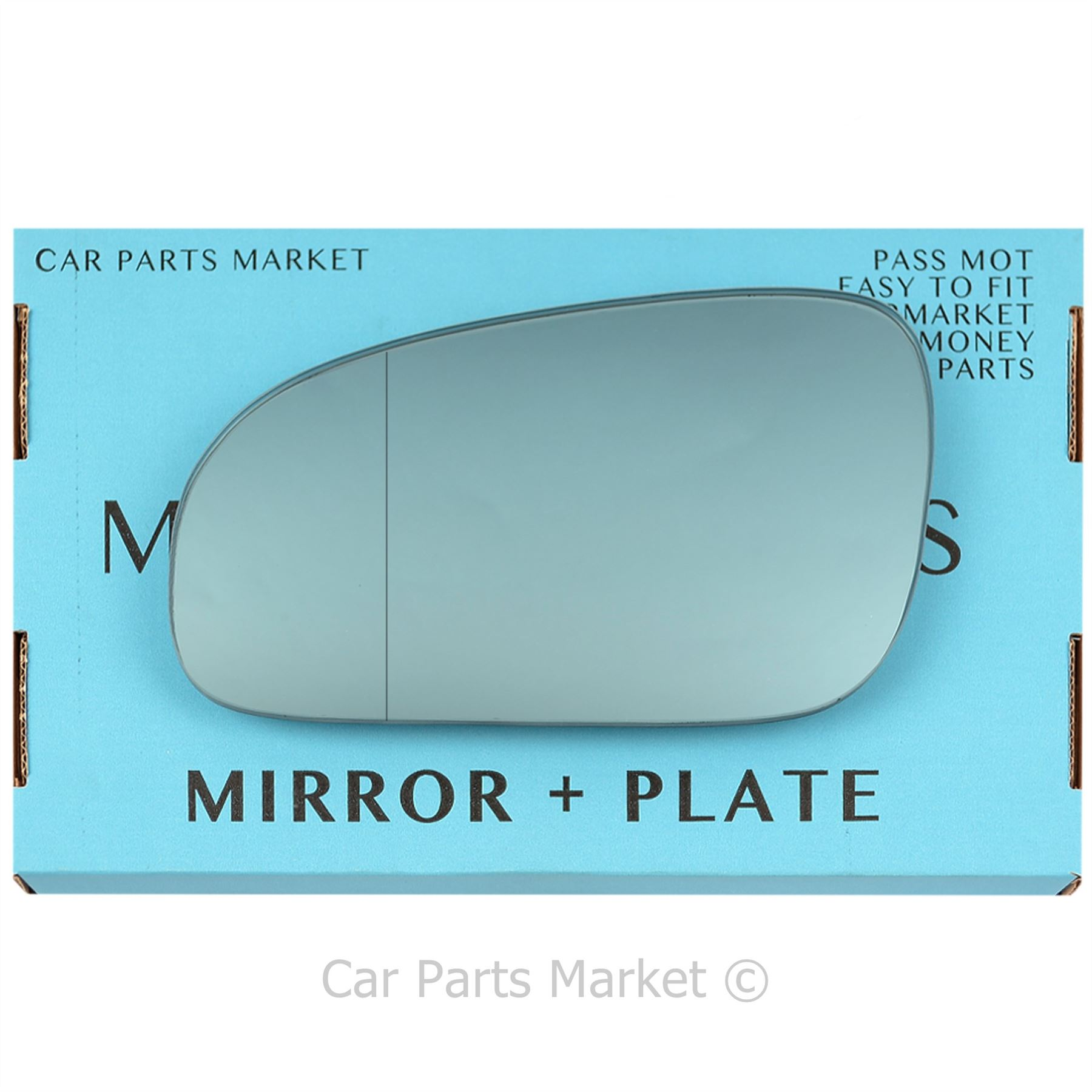 For Volvo s80 2003-2006 left hand side wide angle wing door mirror glass