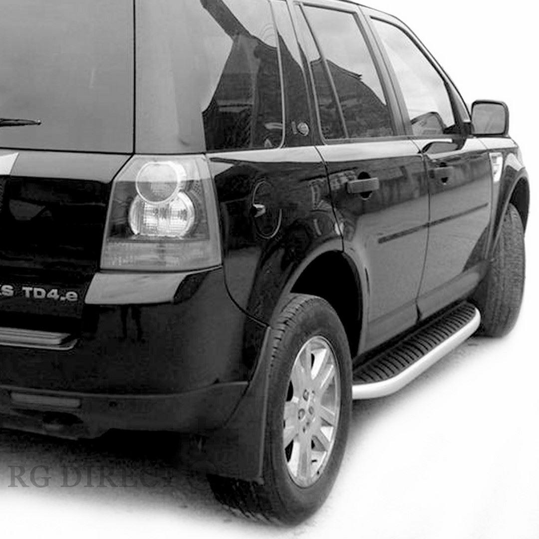 Land Rover Freelander 1: Brand New OEM Style Running Boards Side Steps For Land