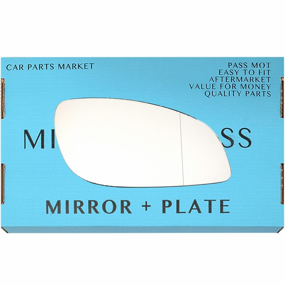 plate Right hand side for Vauxhall Vectra C 03-08 Wide Angle wing mirror glass