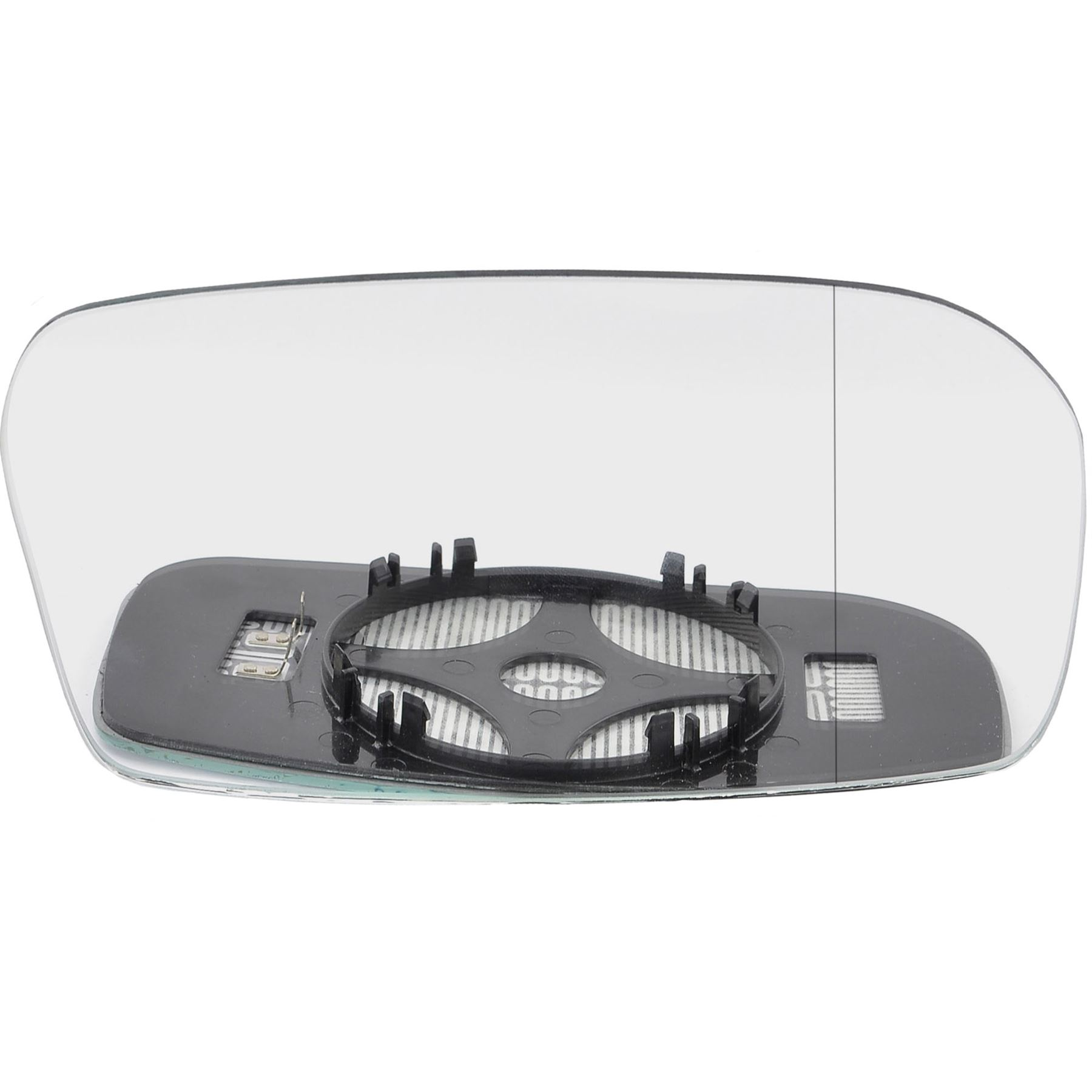 New Left Mirror Glass with Backing Non Heated Fits 2001-2005 Honda Civic