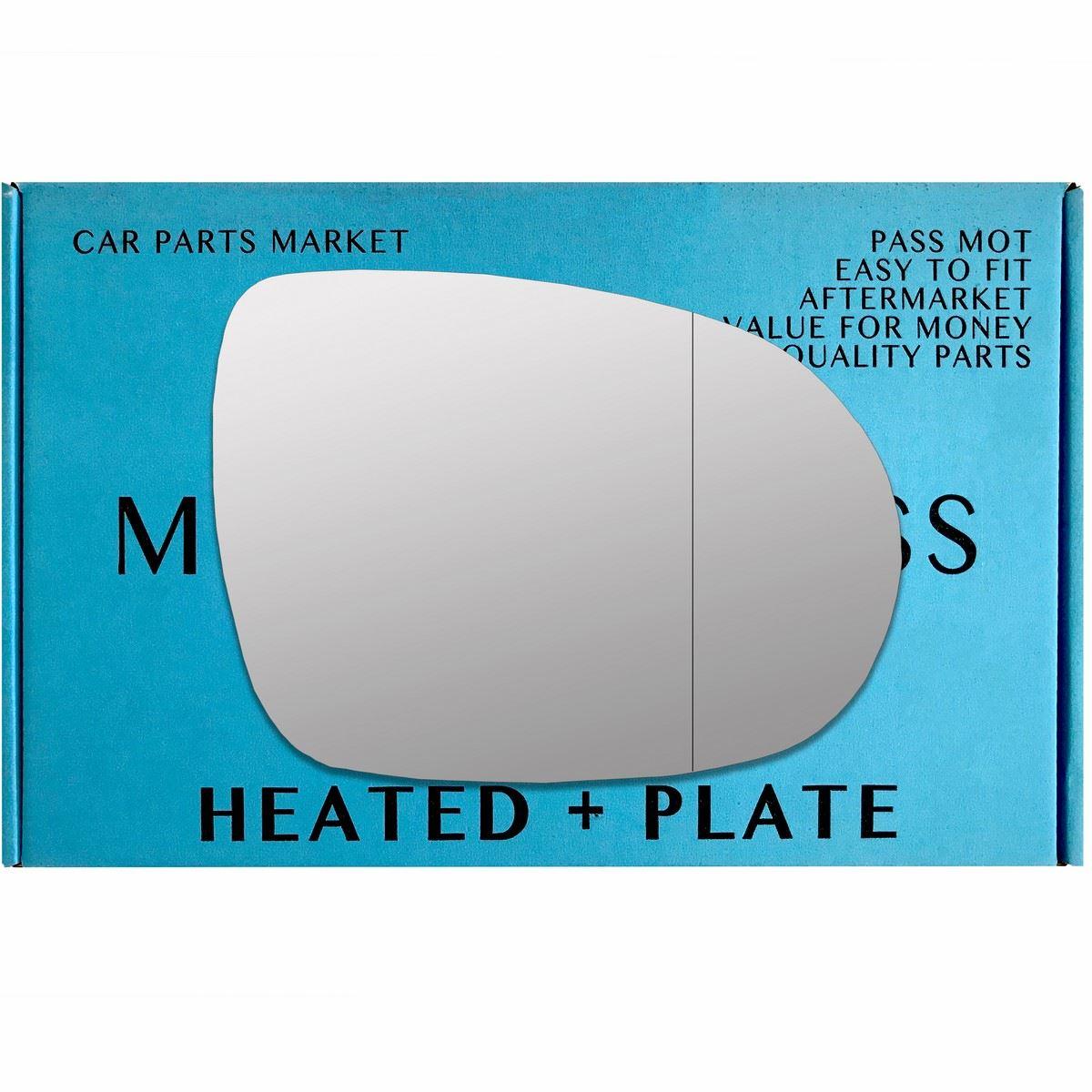 Left Side Wide Angle Heated Mirror Glass for Kia Sorento 2002-2011 0196LASH