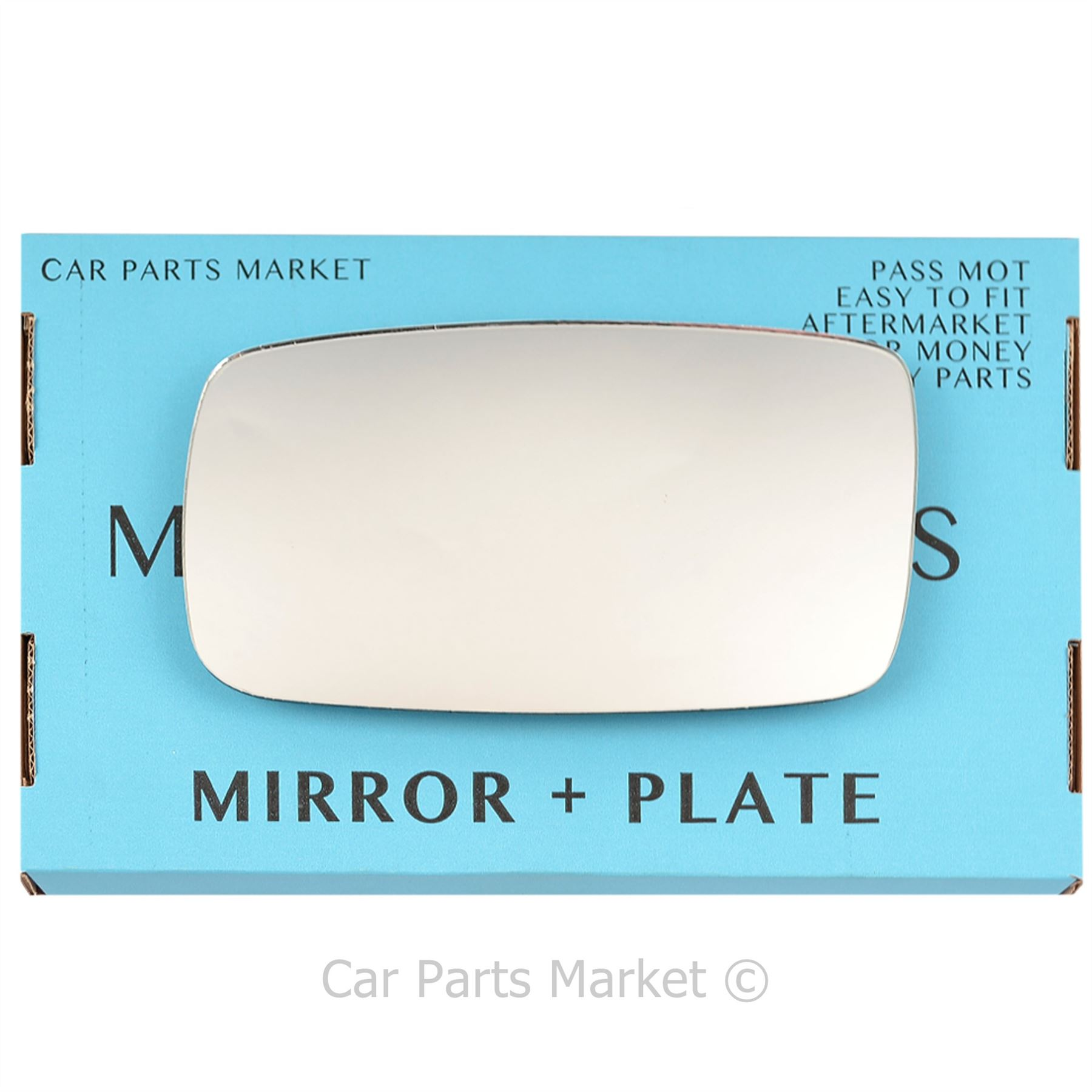 Wing Mirror Glass,Wide Angle Mirror,Right Hand Side 1990 to 1997 Volvo 940