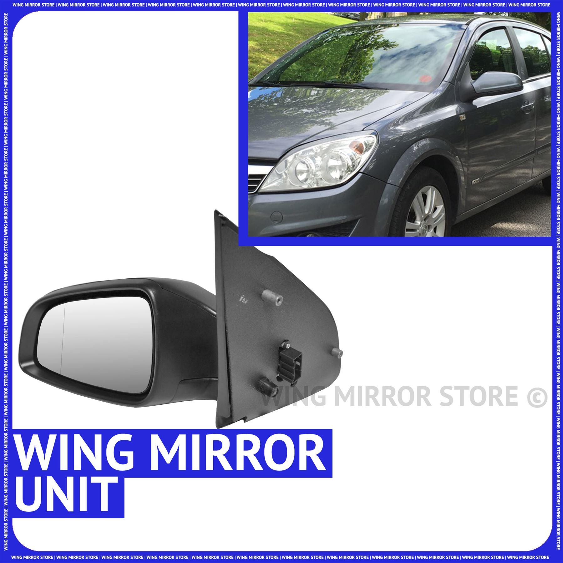 Left side for Citroen C4 2004-2009 heated wing door mirror glass