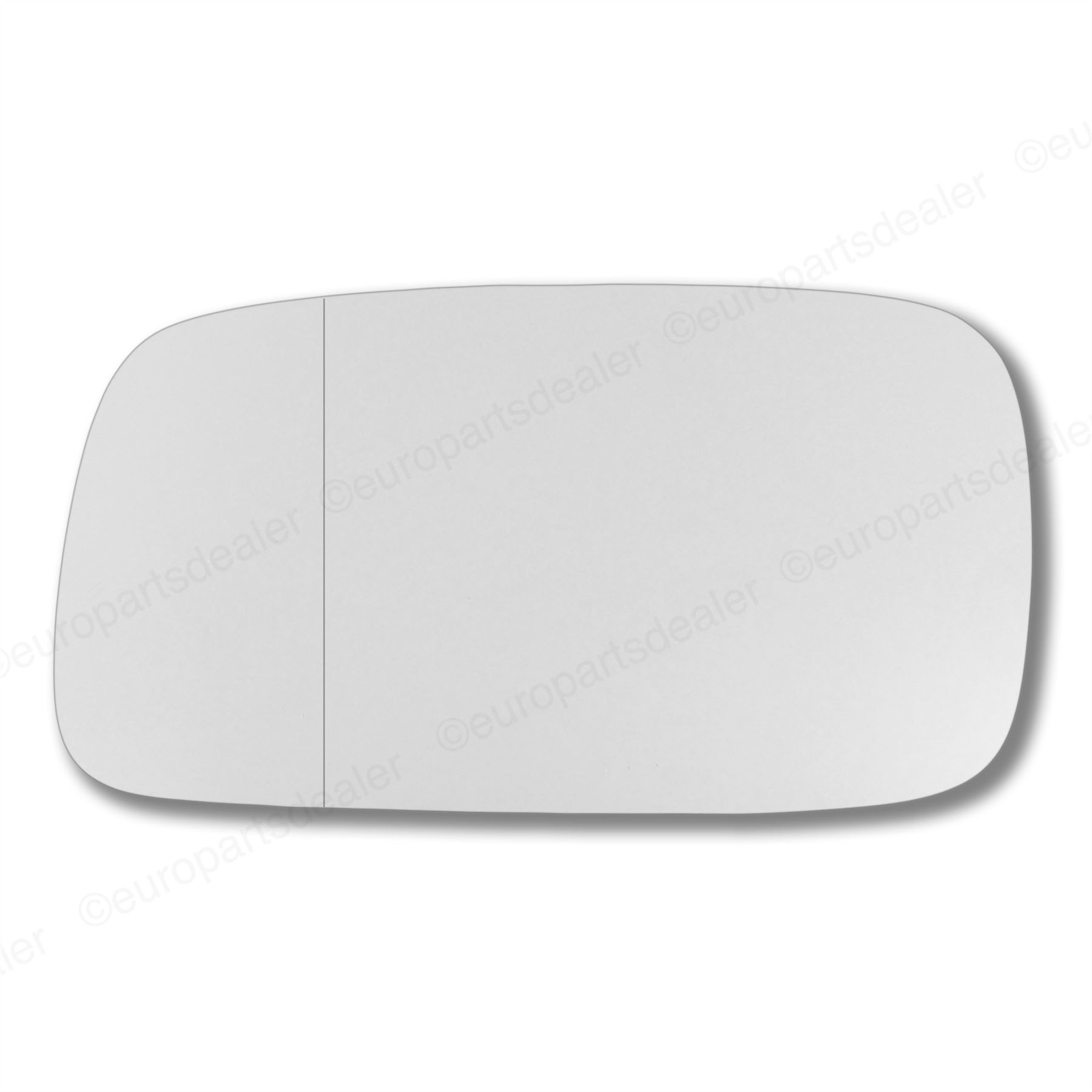 Driver Side WIDE ANGLE WING DOOR MIRROR GLASS VW Caddy 2004-2015 Stick On Right
