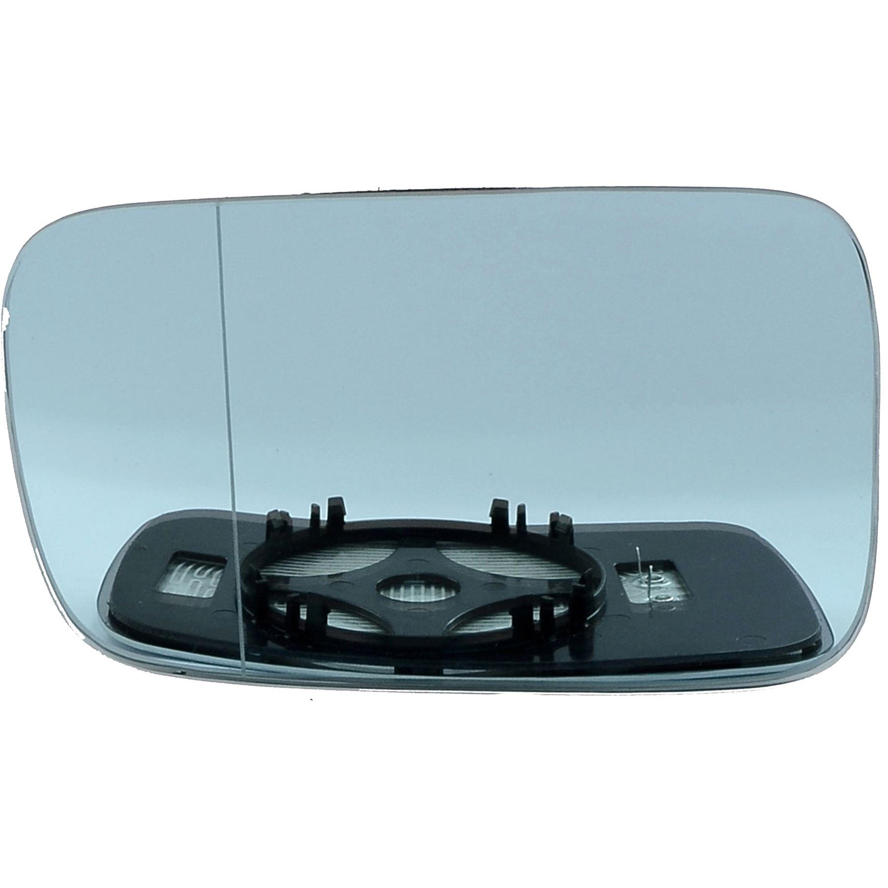 Audi A3 droit conducteur Wing Mirror Glass 2008-2010 Portes Côté Chauffé