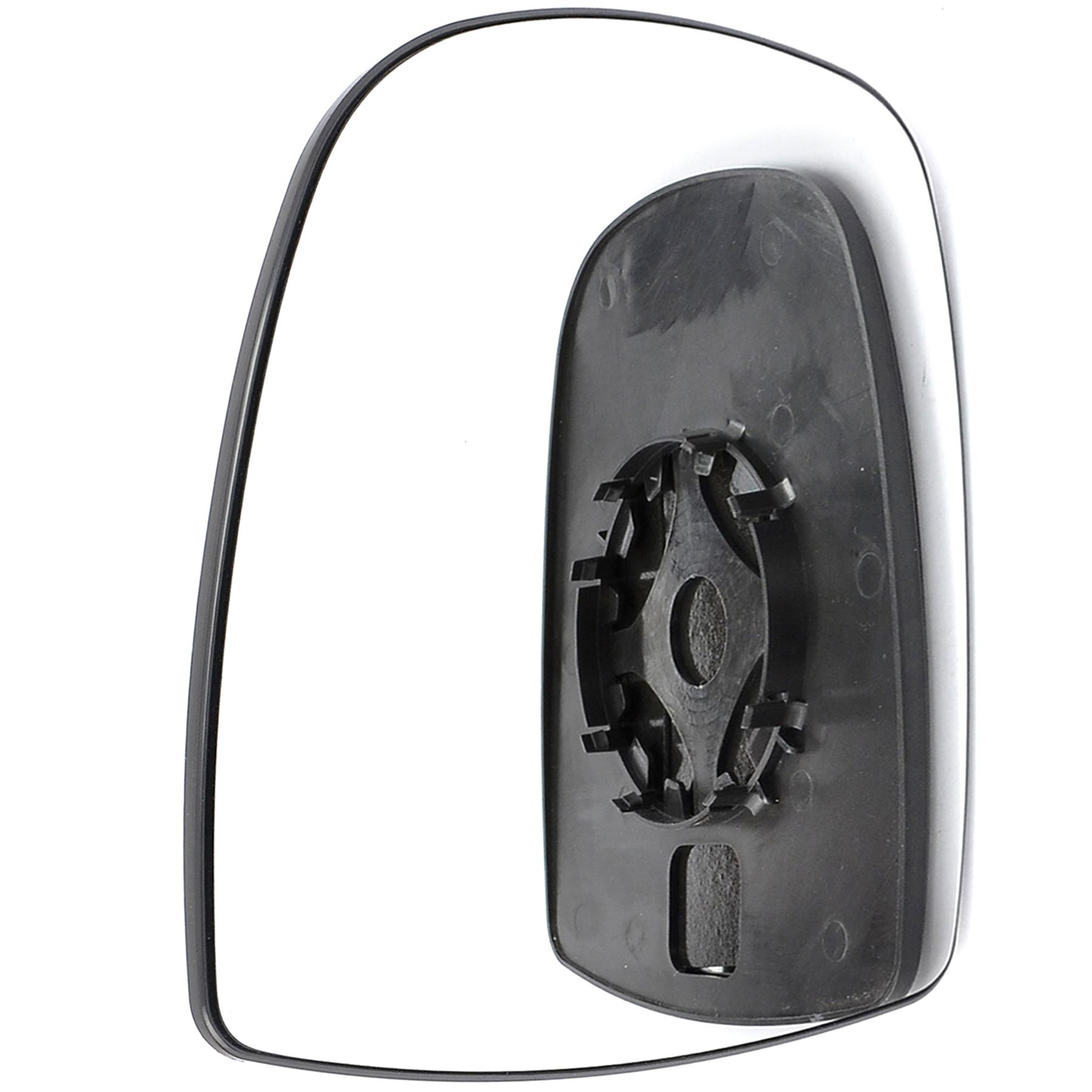 Driver Side Right Convex Wing Mirror Glass FOR Nissan Primastar 2001-2014