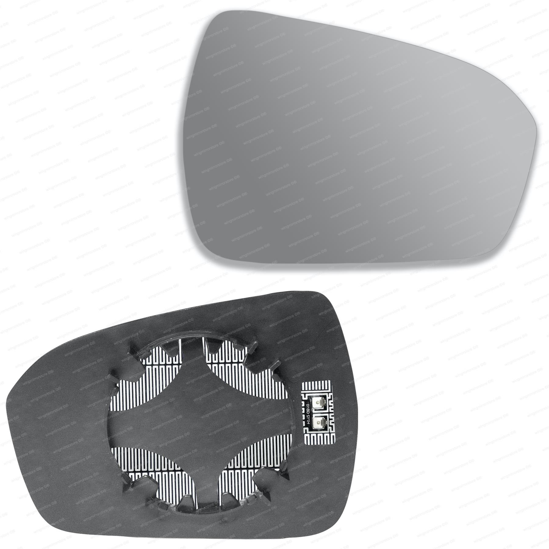 Ford Mondeo Mk4 Hatchback 2007-2011 Heated Aspherical Mirror Glass Drivers Side