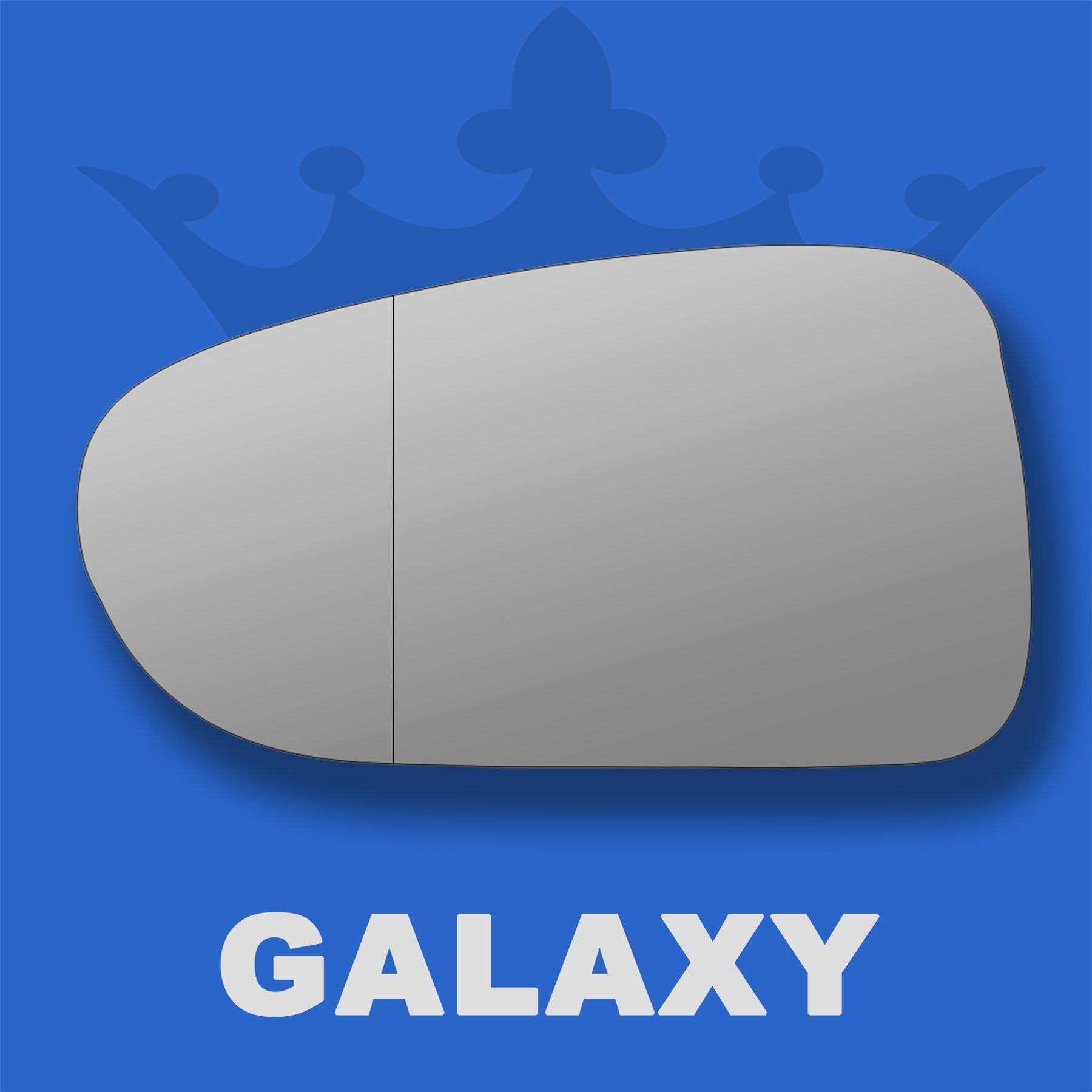 Ford-Galaxy-wing-door-mirror-glass-1995-2006-Left-Passenger-side-with-Blind-Spot