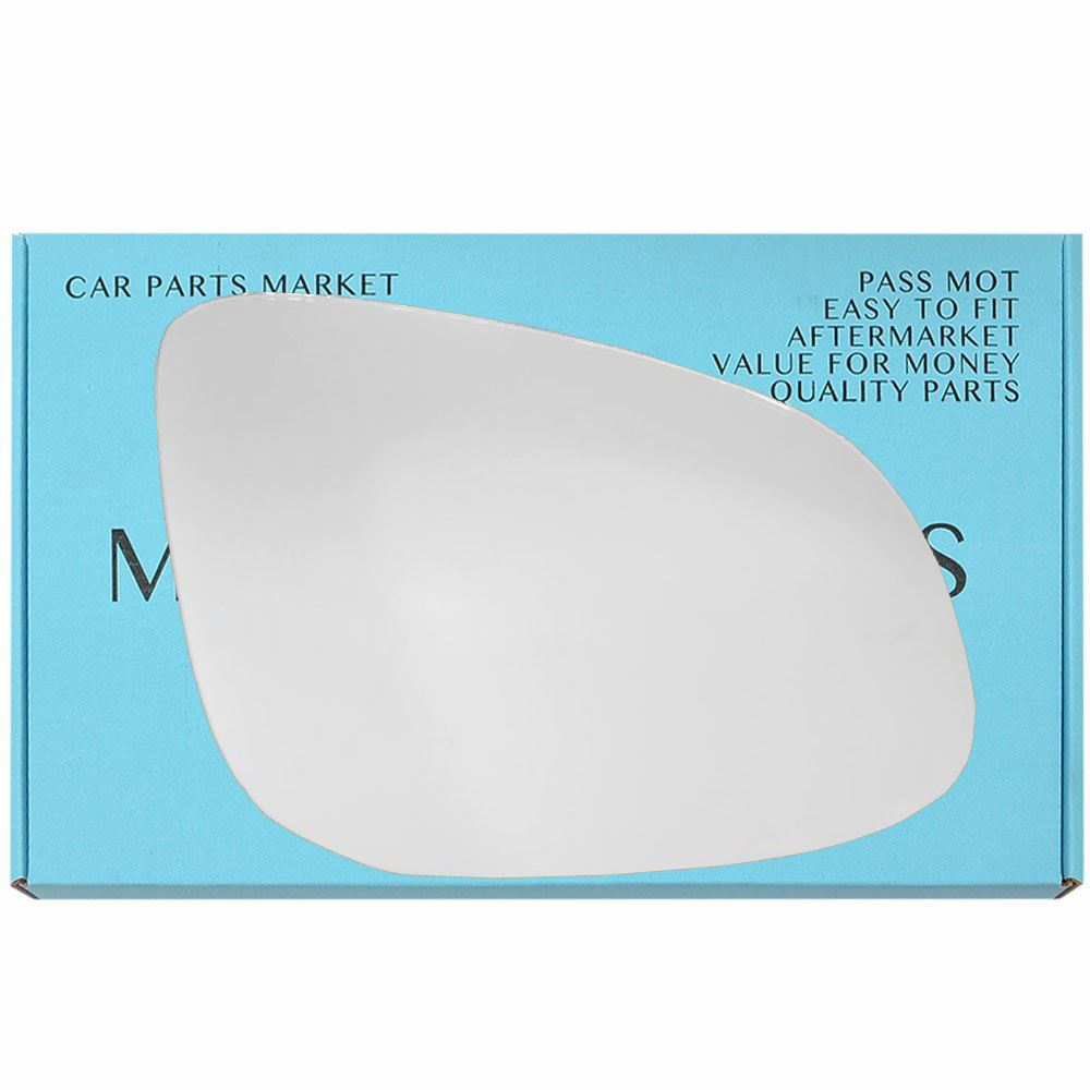 For Mercedes Citan 2012-2017 left Passenger Side Flat Electric wing mirror glass