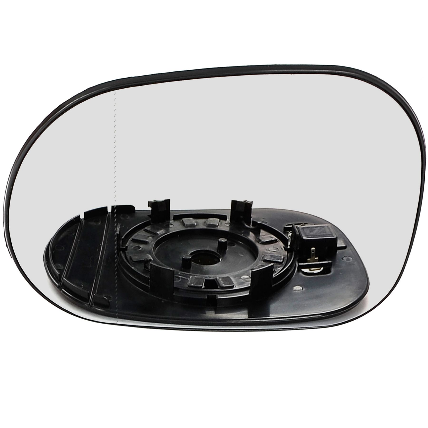 1999-2005 Mercedes S Class Replacement Mirror Glass RHS