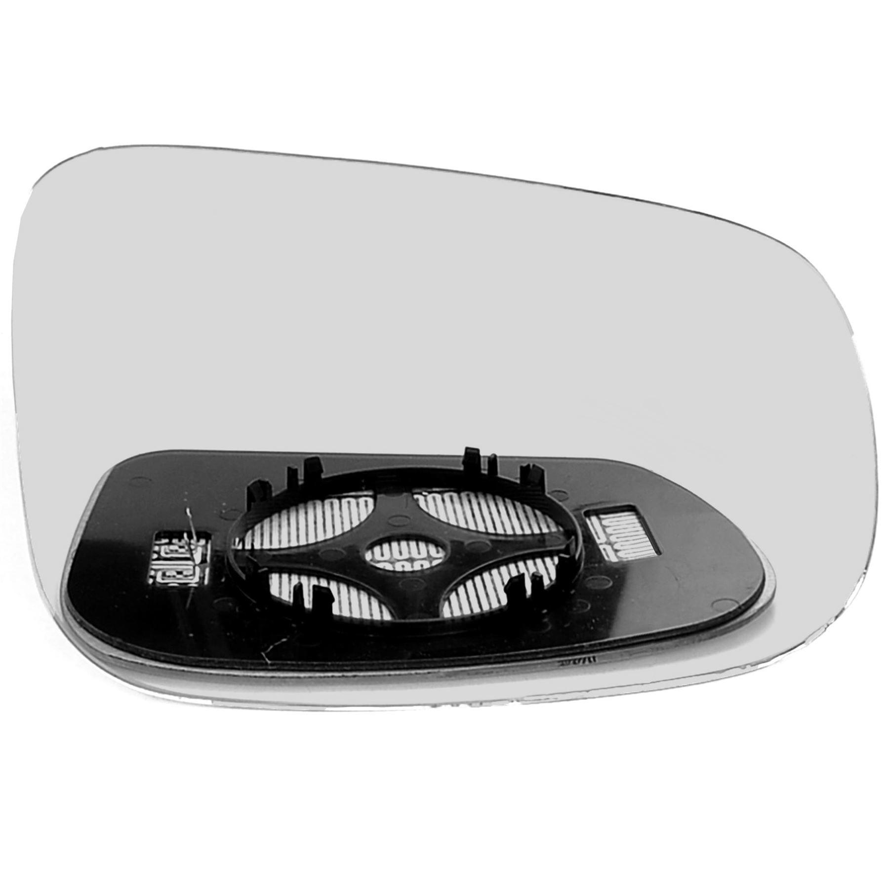 Right Driver Side Wing Door Mirror Glass for JAGUAR XK 1996-2005