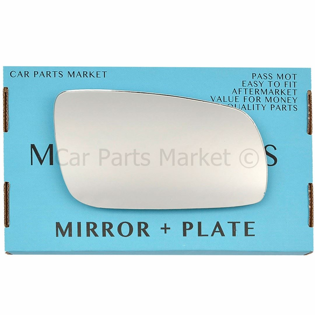 Left hand passenger side for Seat Leon 99-03 wing mirror glass