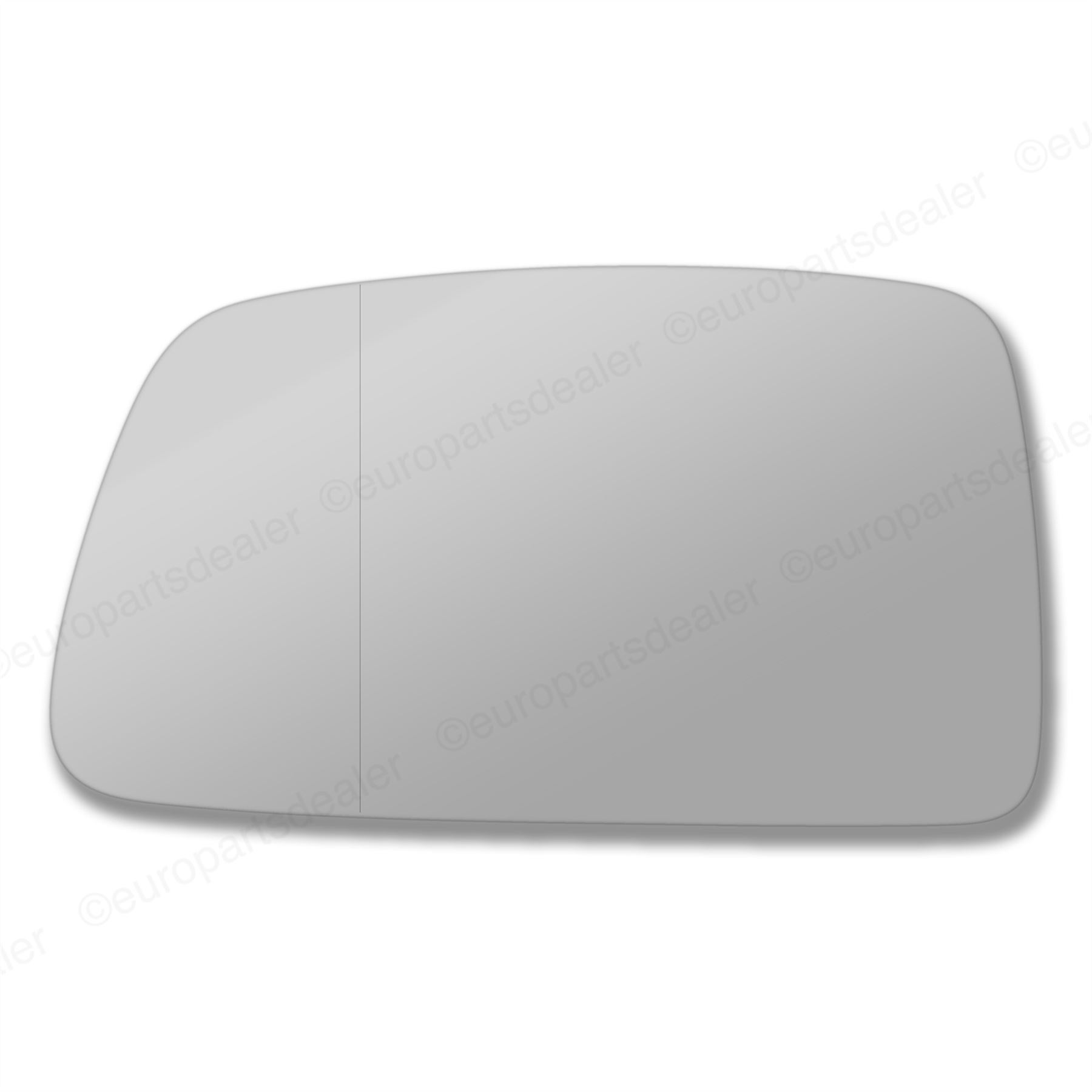 Left hand side for Hyundai Coupe Tiburon 06-10 wing mirror glass Wide Angle