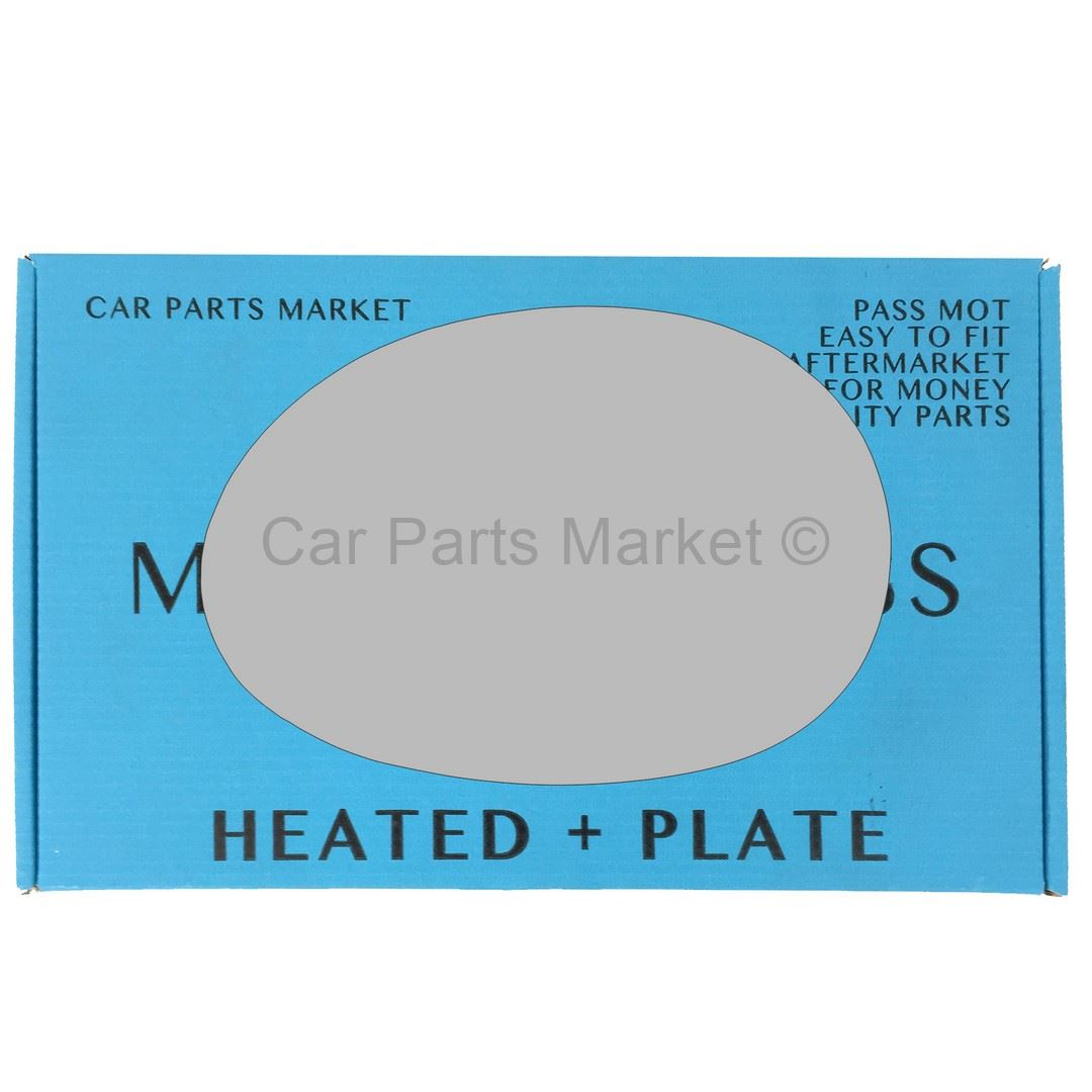 Right side for Renault Capture 13-16 Wide Angle heated wing mirror glass plate