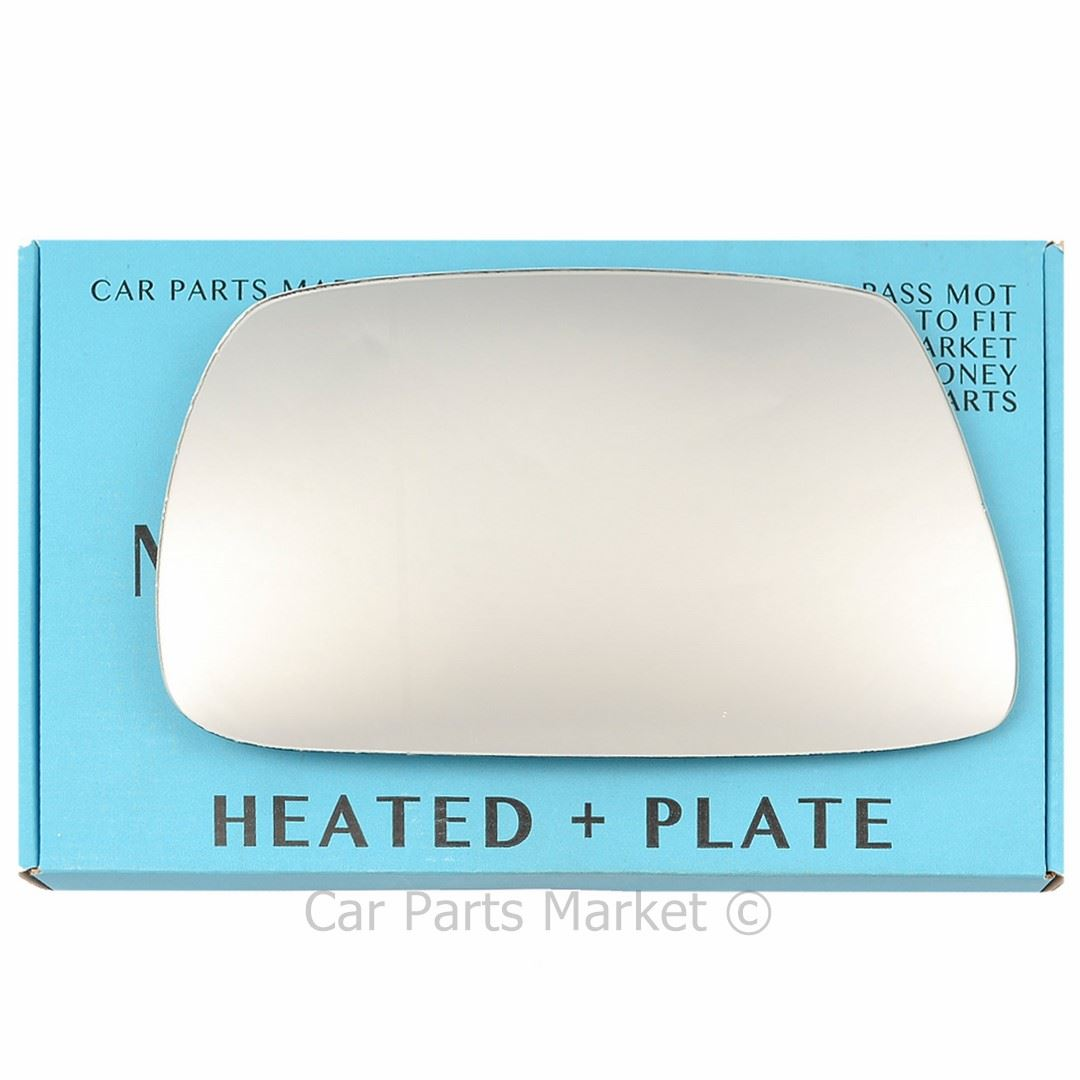 Right Driver side Flat Wing door mirror glass for Jeep Grand Cherokee 05-09 heat