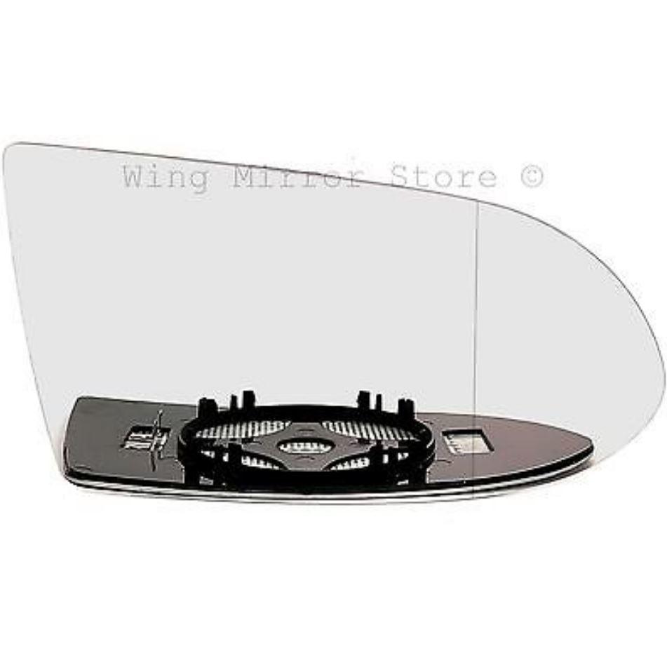 Derecho Lado Del Conductor Cristal Espejo Gran Angular Para Vauxhall Zafira a 1999-2005 calentada