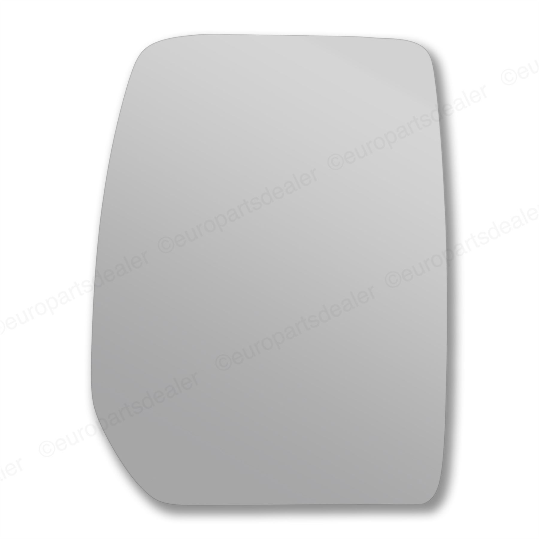 Right Driver side Convex Wing mirror glass for Ford Transit 2000-2014