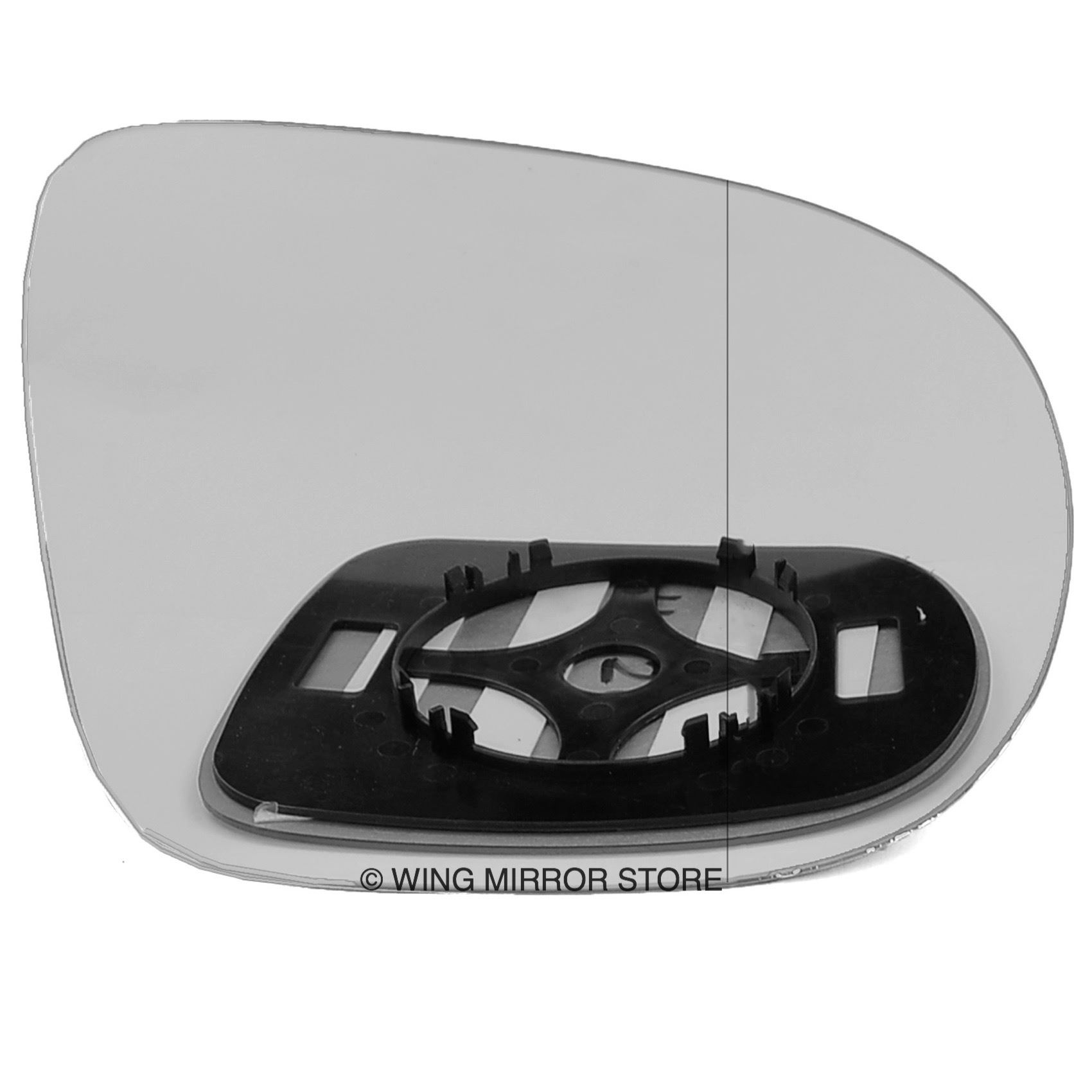 RIGHT DRIVER SIDE MIRROR GLASS FOR RENAULT CLIO X98 2014 onward