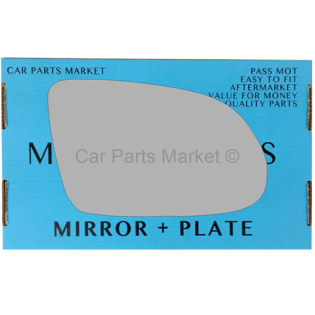 For MG TF 2002-2005 RIGHT SIDE WING HEATED MIRROR GLASS DRIVER PLATE