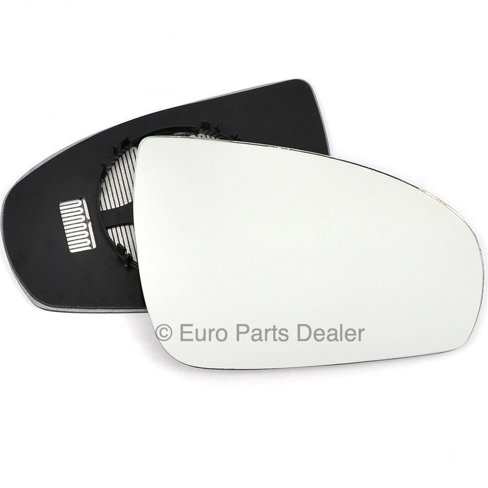 Derecho Lado Del Conductor Ala Gran Angular Cristal Espejo Para Opel Astra H 09-10 climatizada