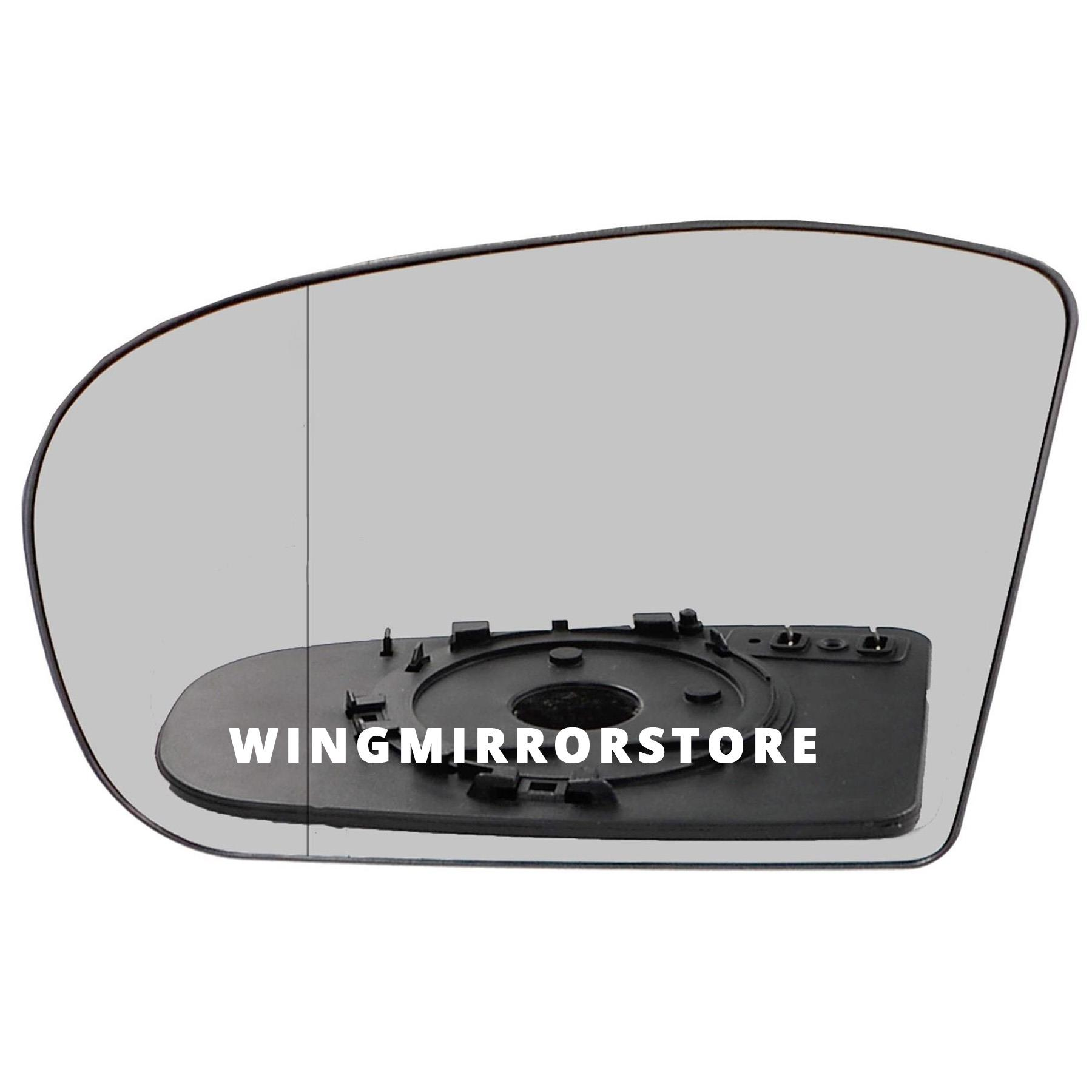 Right hand driver side for Mercedes E-Class W211 2002-2006 wing mirror glass