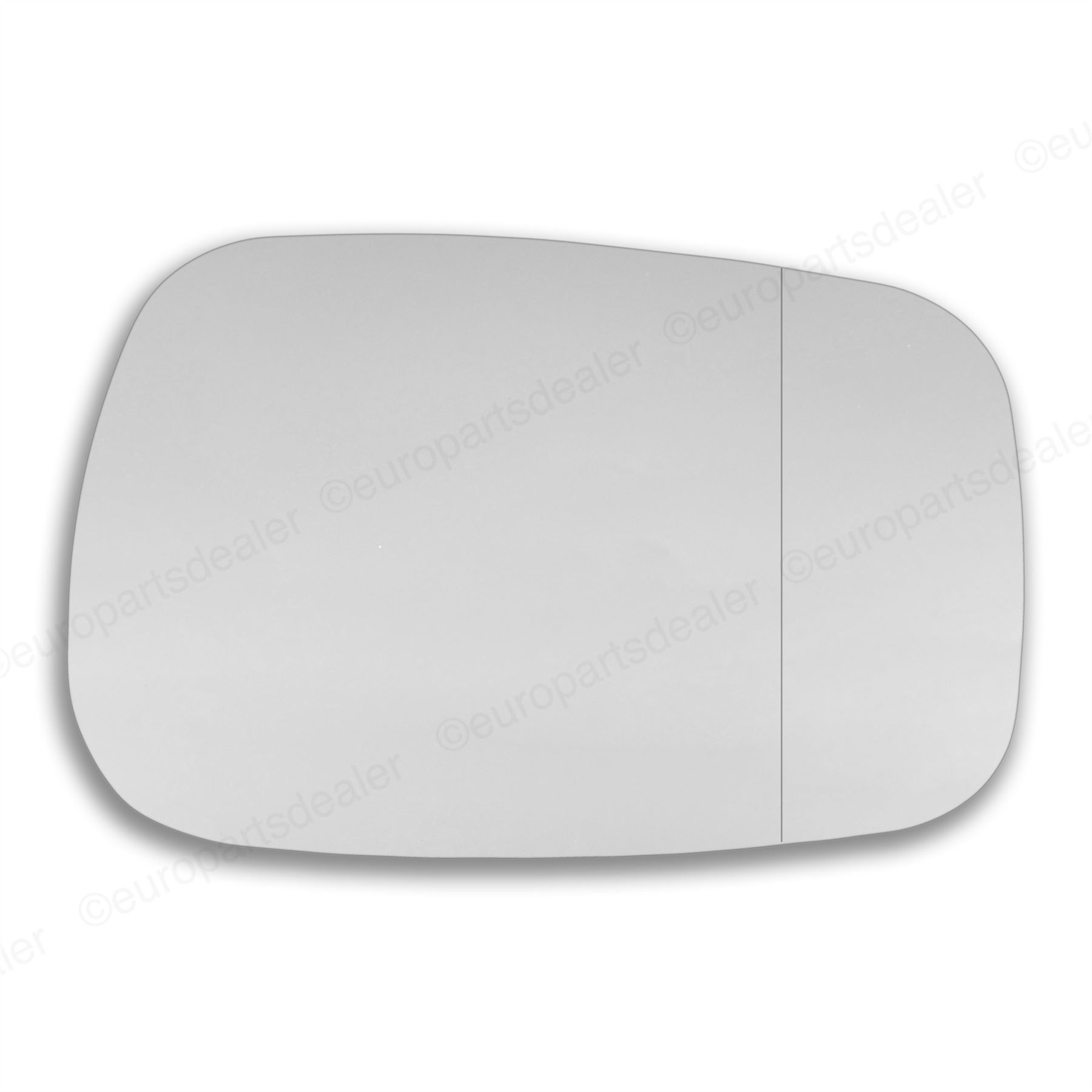 For Renault Kangoo 2002-08 left Passenger Side WIDE ANGLE WING MIRROR GLASS