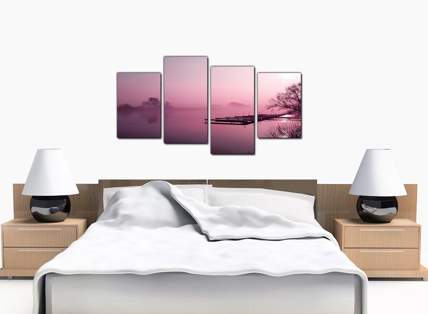 Grand paysage prune salle de séjour mur de toile art prints photos 4120