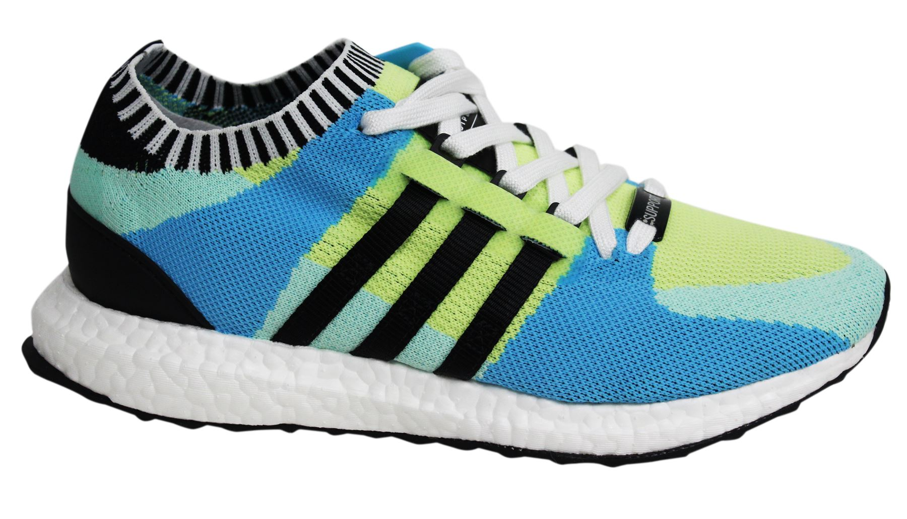 Adidas Support Ultra PK Lace Up Mens Multicoloured Textile Trainers BB1244 U28