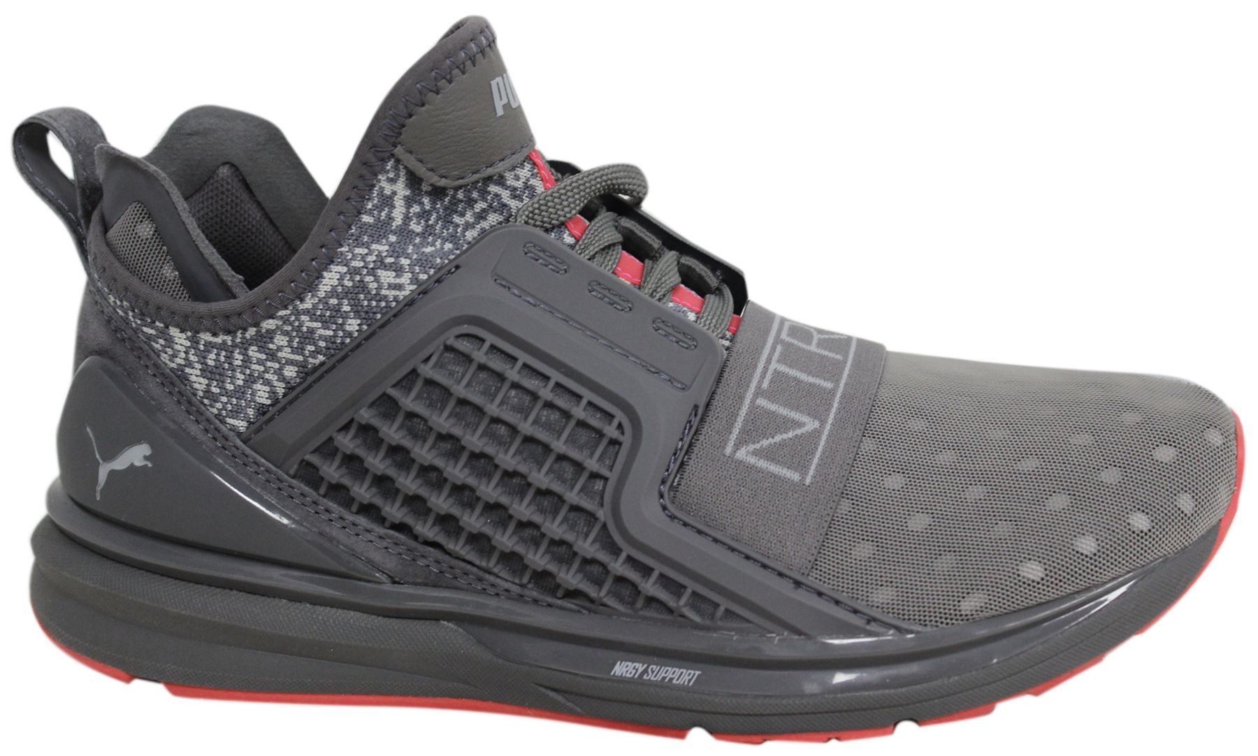 new styles 5a1c8 1f38a Details about Puma x Staple Ignite Limitless Lace Up Grey Textile Mens  Trainers 363202 02 D30