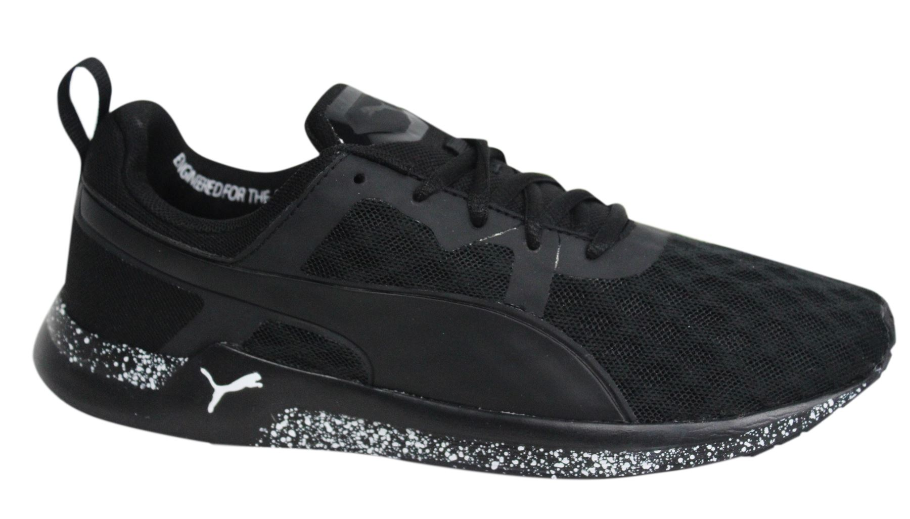Puma XT Pulse XT Puma v2 FT Lace Up schwarz Weiß Textile Damenschuhe Trainers e69e3b