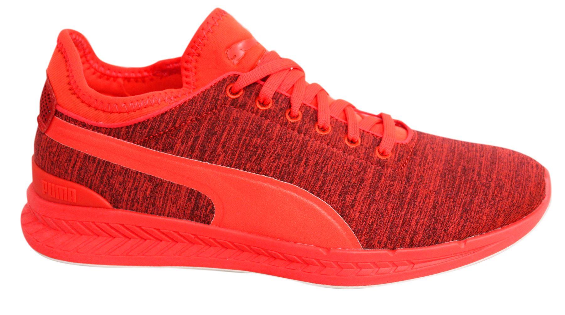 Puma IGNITE Sock Jersey Con Lacci Rosso Blast Scarpe da Ginnastica da Uomo Tessile 362352 01 U98