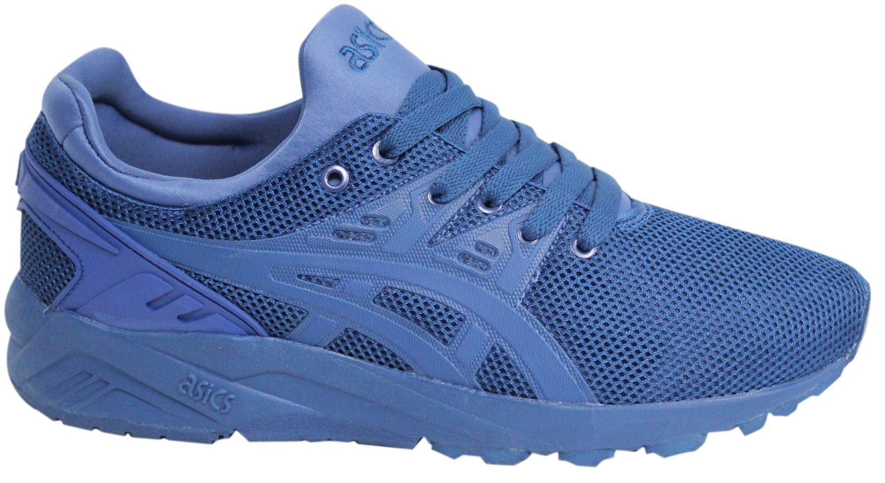 best website bc949 5b4ff Details about Asics Gel-Kayano Evo Lace Up Monaco Blue Mens Textile  Trainers H62SQ 4242 M15